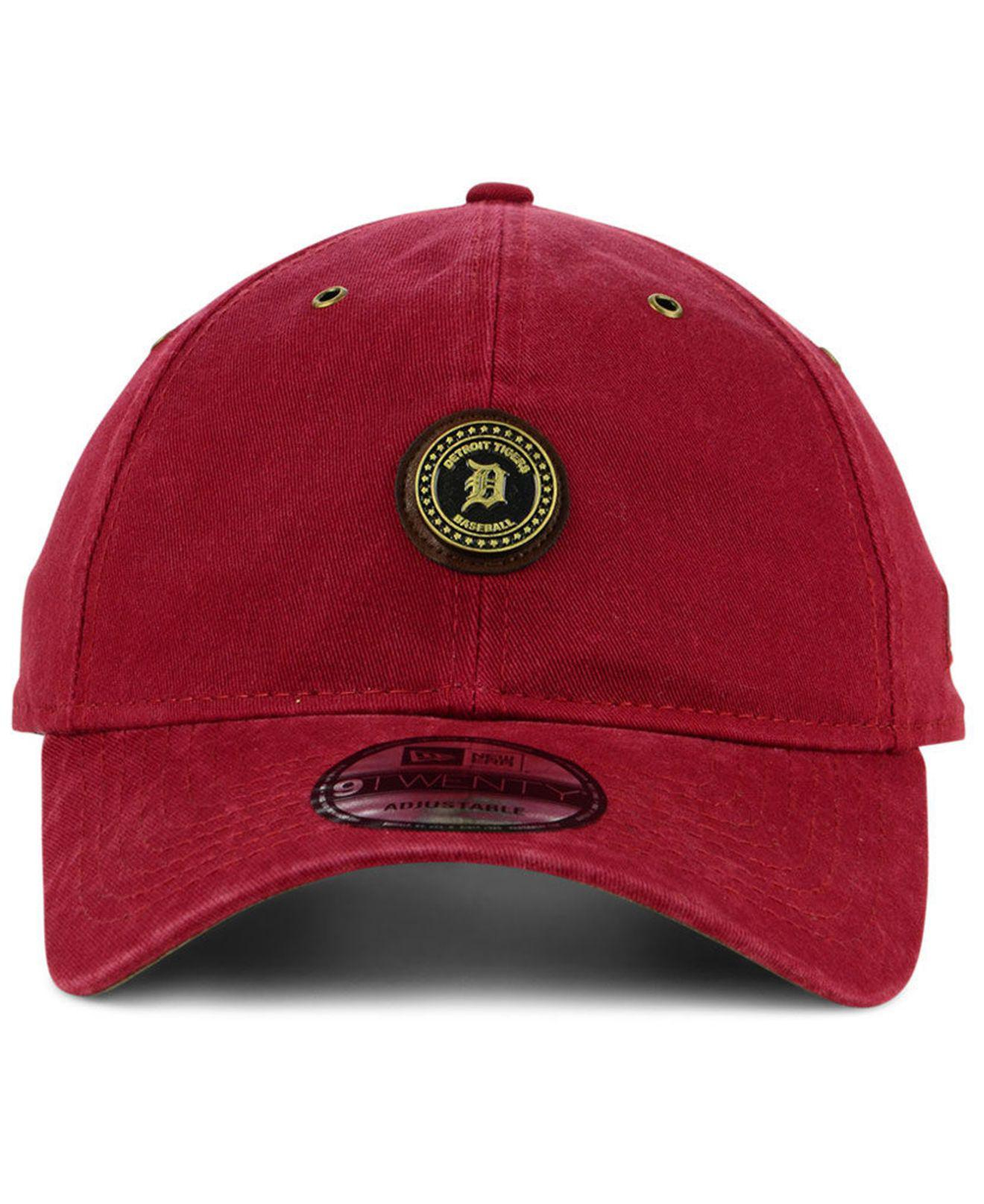 promo code f001c d2538 Lyst - KTZ Detroit Tigers Coin 9twenty Cap in Red for Men