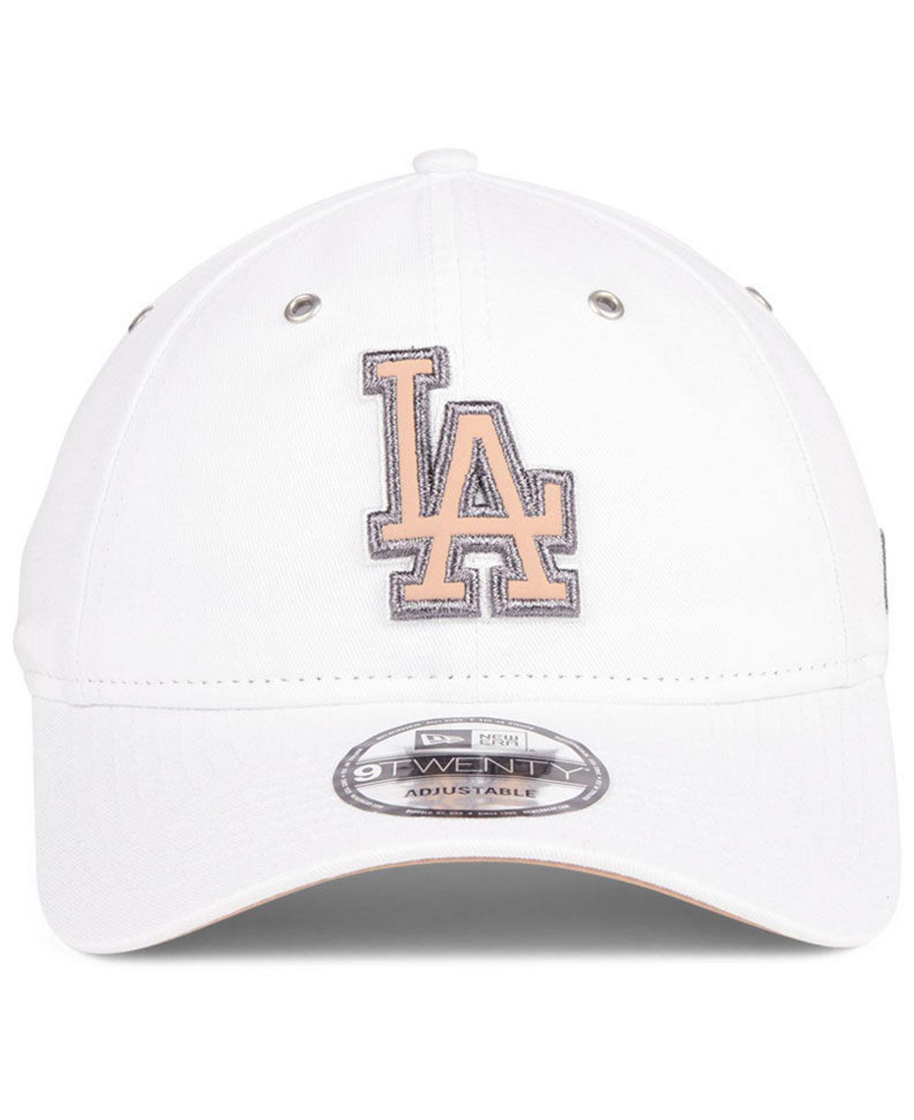 size 40 3be01 c20ce KTZ Los Angeles Dodgers Metallic Pastel 9twenty Cap in White - Lyst