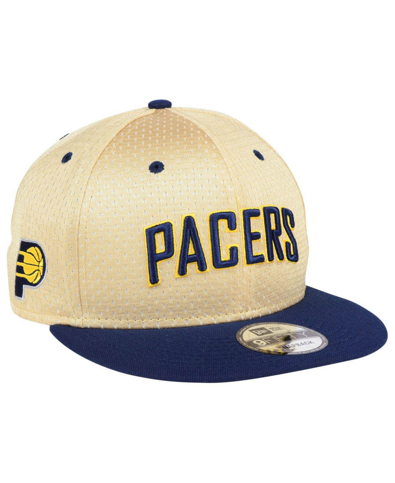 official photos 7301f 2972b KTZ Indiana Pacers Champagne 9fifty Snapback Cap in Blue for Men - Lyst