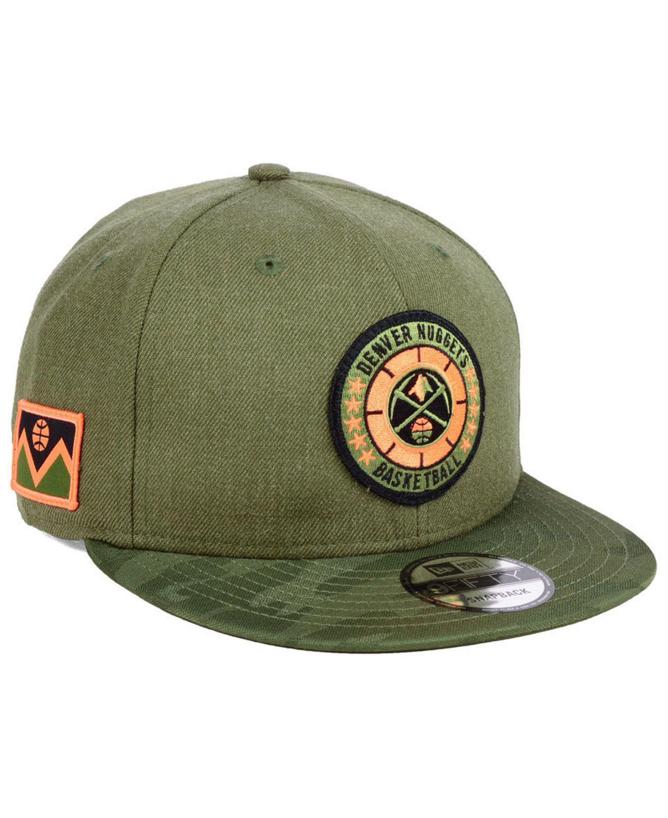 new concept 62fc2 48424 ... where can i buy ktz. mens green denver nuggets tip off 9fifty snapback  cap e71df