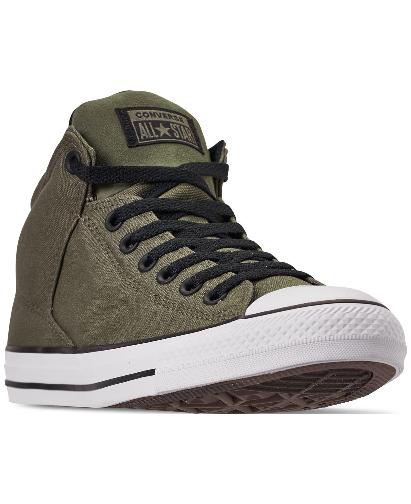 17b29f957a Lyst - Converse Chuck Taylor All Star High Street High Top Uniform ...