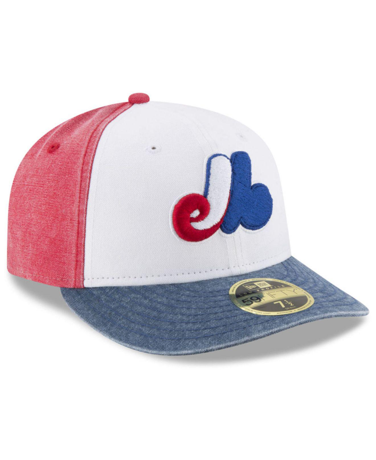 quality design 80a10 bc8bf KTZ Montreal Expos 59fifty Bro Cap for Men - Lyst