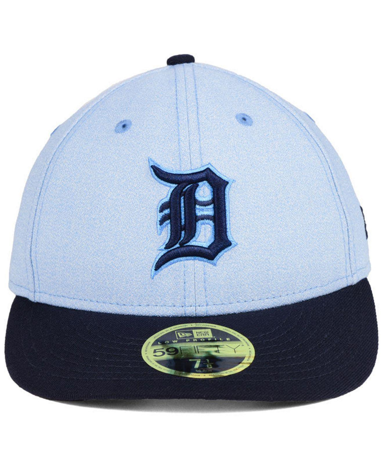 0e36224d ... norway lyst ktz detroit tigers fathers day low profile 59fifty cap in  blue for men 2faaa ...
