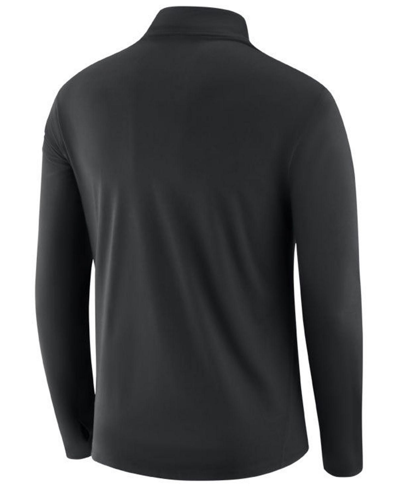 a380c36ca725 Lyst - Nike Philadelphia Eagles Core Modern Quarter-zip Pullover in ...