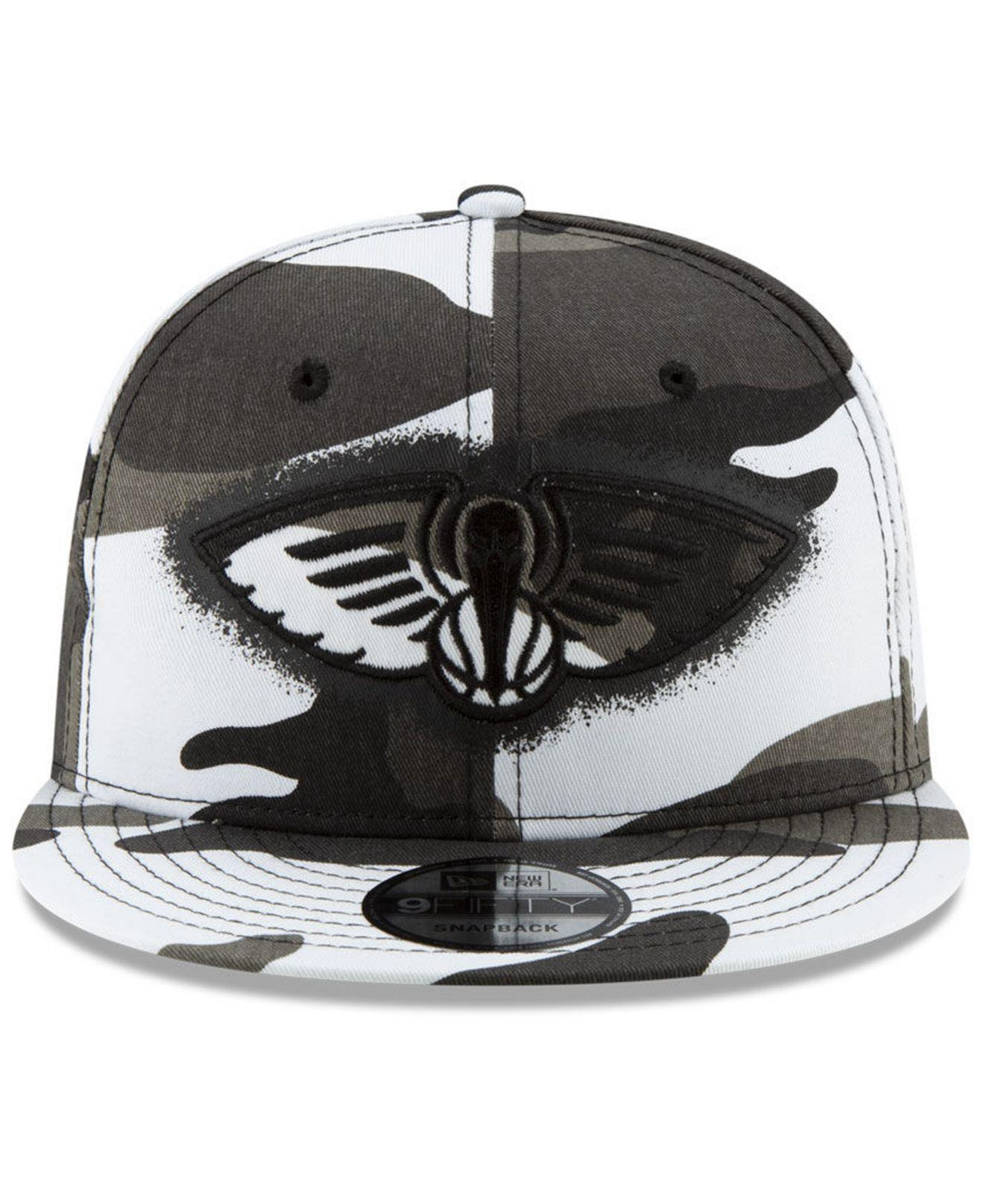 new concept 01430 08841 Lyst - KTZ New Orleans Pelicans Overspray 9fifty Snapback Cap for Men