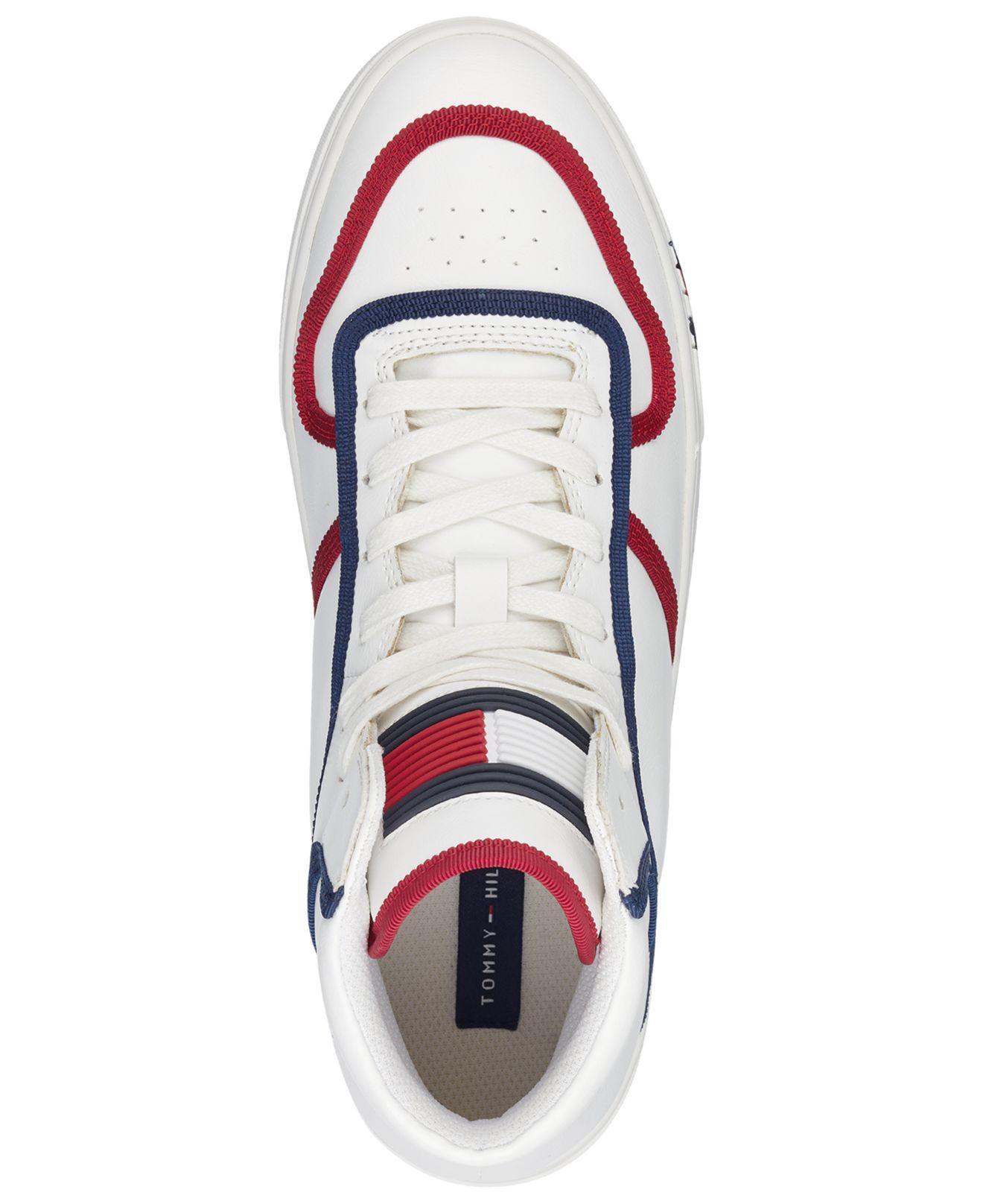 0d99da3c Tommy Hilfiger White Japan High Top Sneakers for men. View fullscreen