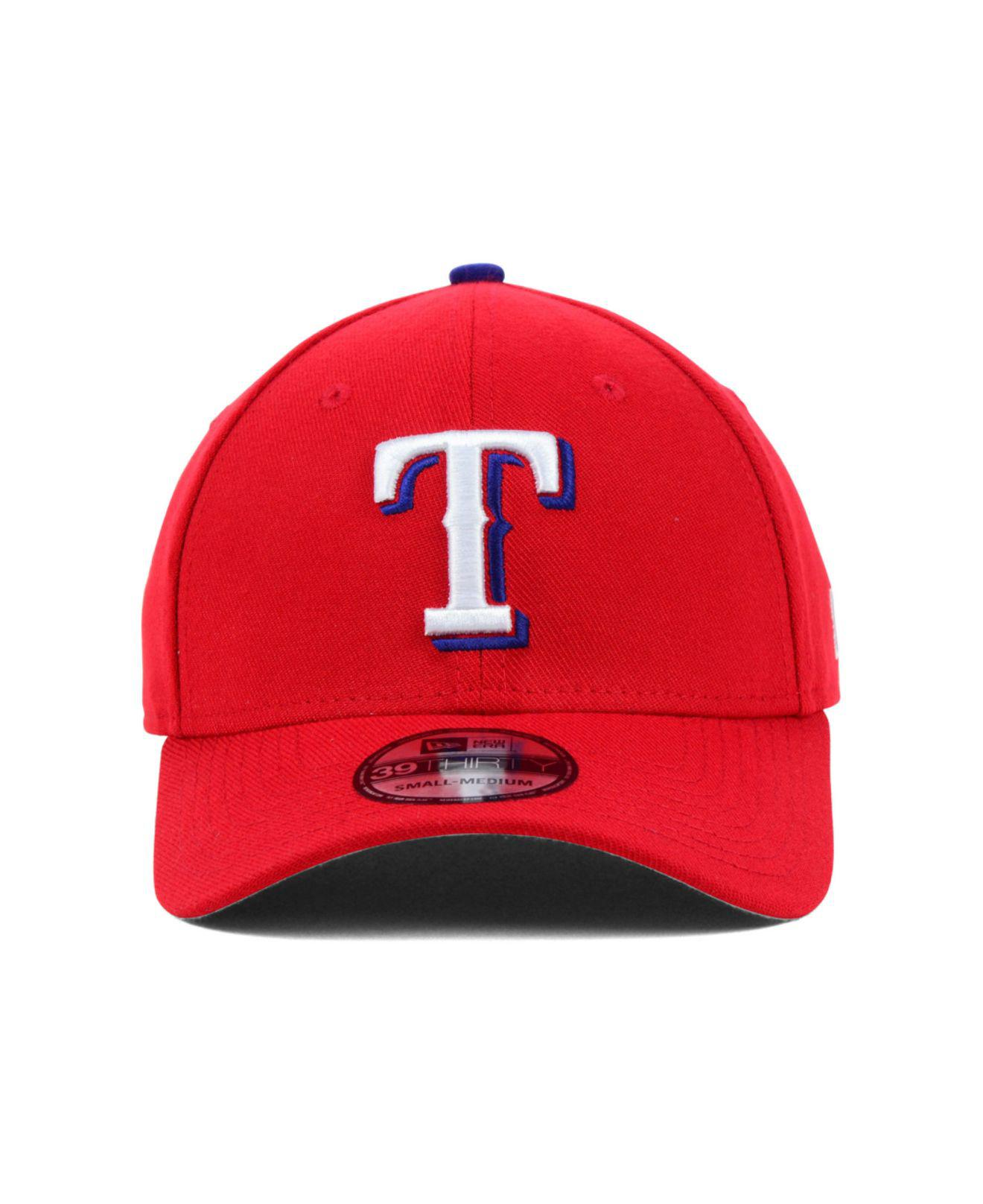 Lyst - KTZ Texas Rangers Mlb Team Classic 39thirty Cap in Red for Men 38956944b1c5