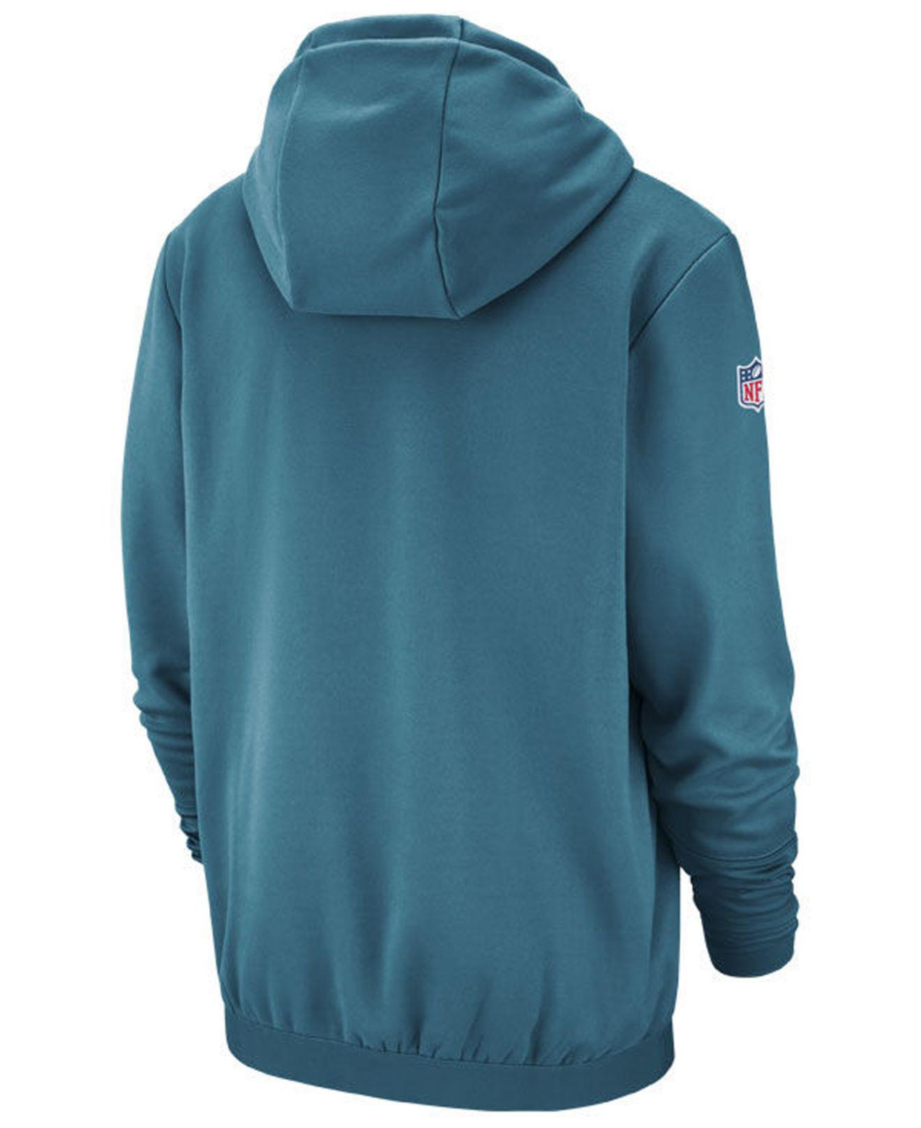 2be90bfb9 Lyst - Nike Jacksonville Jaguars Sideline Player Local Therma Hoodie in  Blue for Men