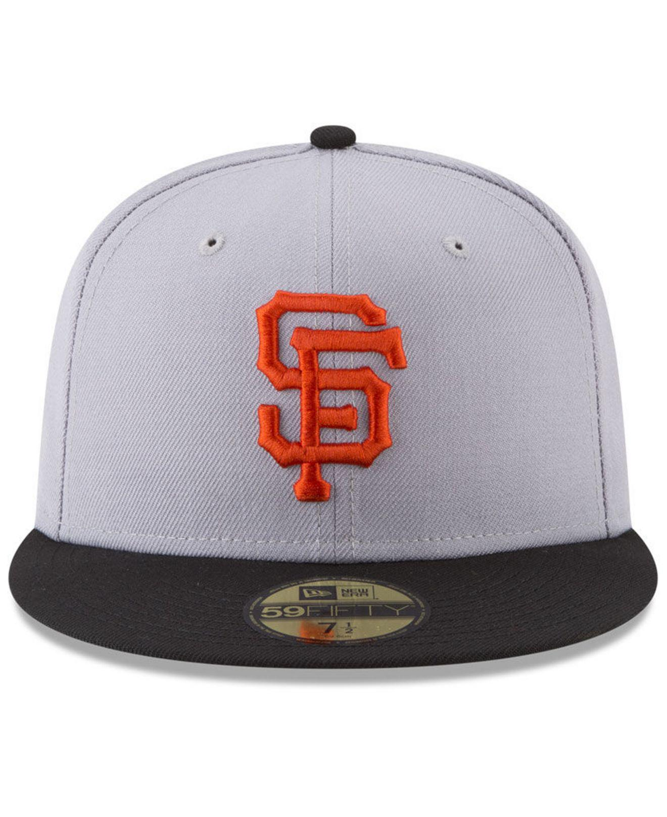 new product 300c1 691ff ... new zealand lyst ktz san francisco giants batting practice wool flip 59fifty  fitted cap for men