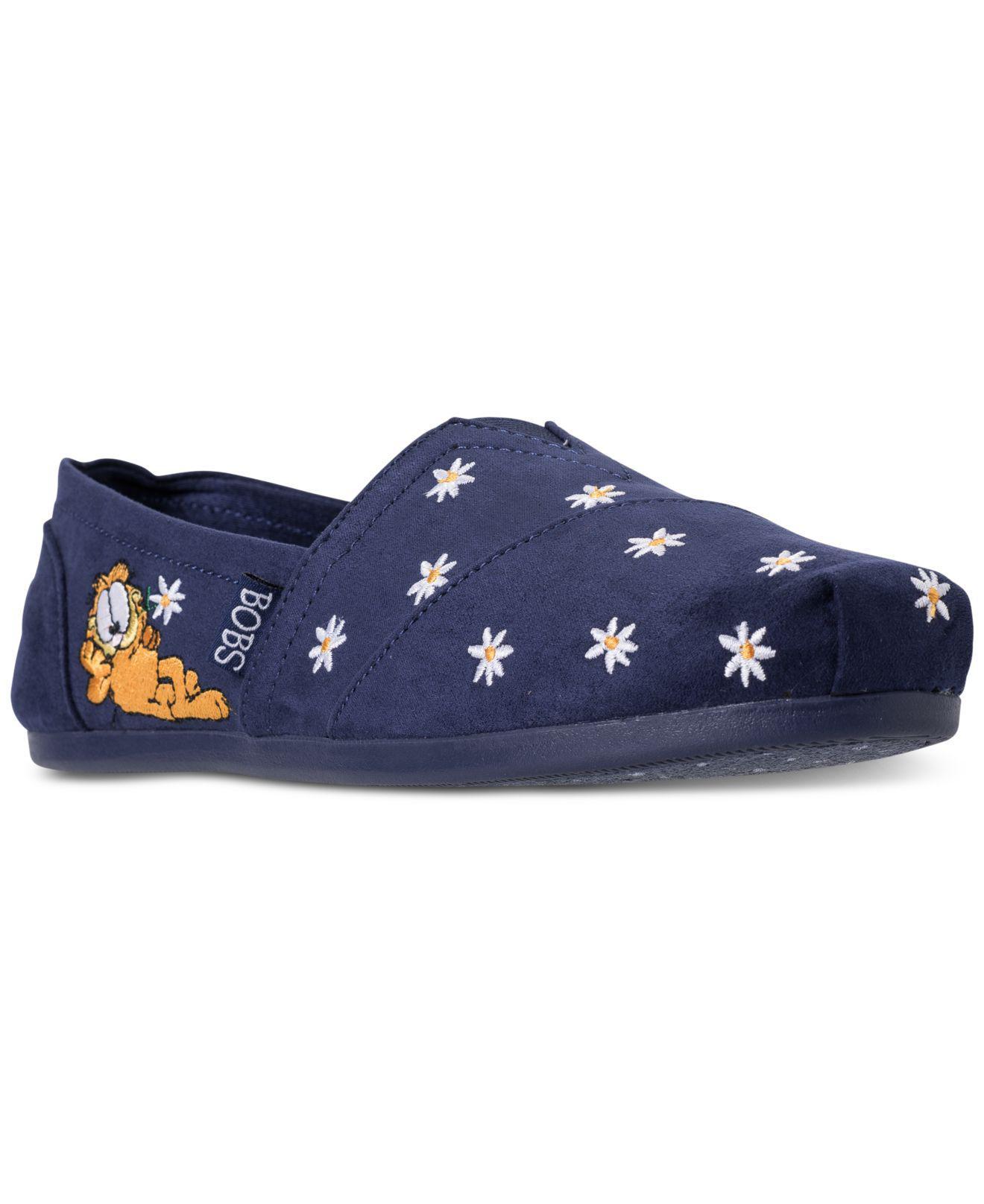 Skechers Women's Bobs Plush - Garfield #Bestie Bobs for Dogs Casual Slip-On Flats from Finish Line suyxUj
