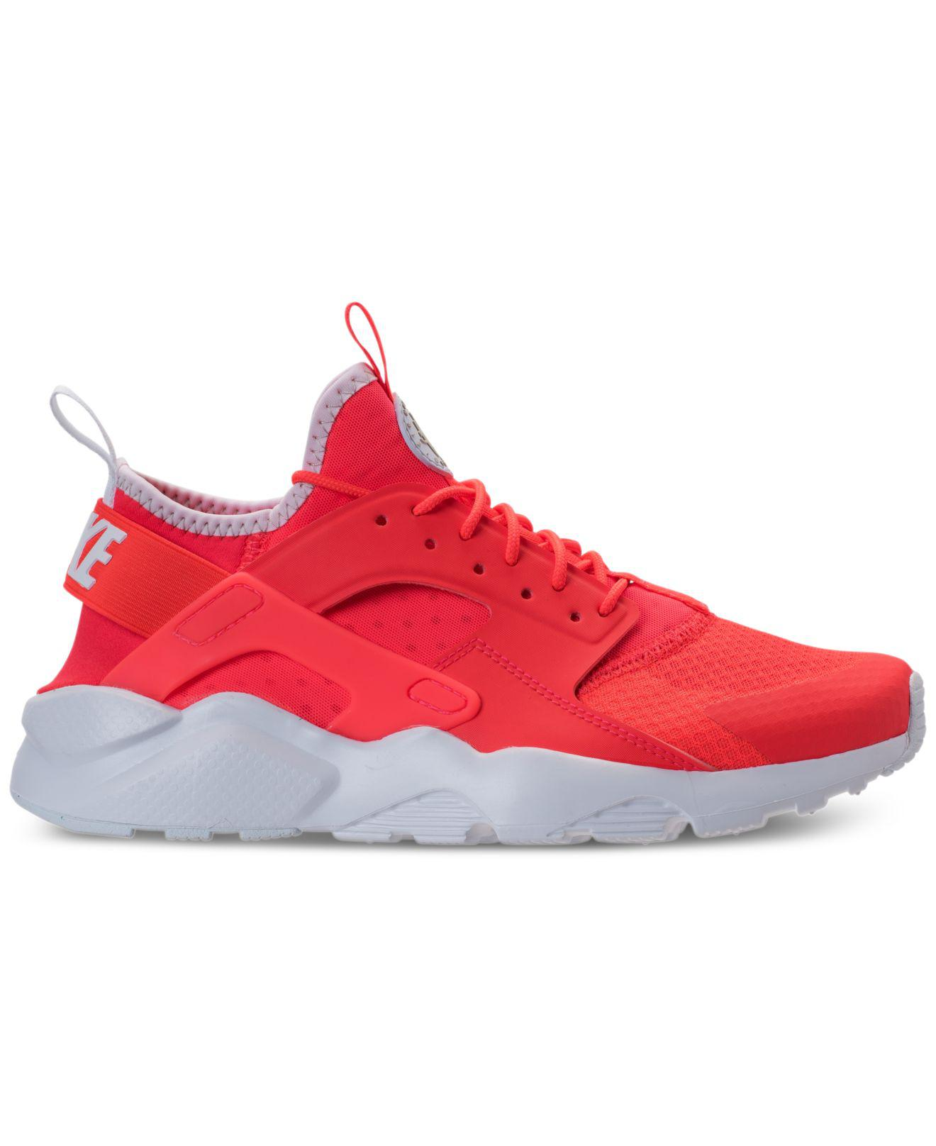 223766ed7c73 Lyst - Nike Air Huarache Run Ultra Running Sneakers From Finish Line in Red  for Men