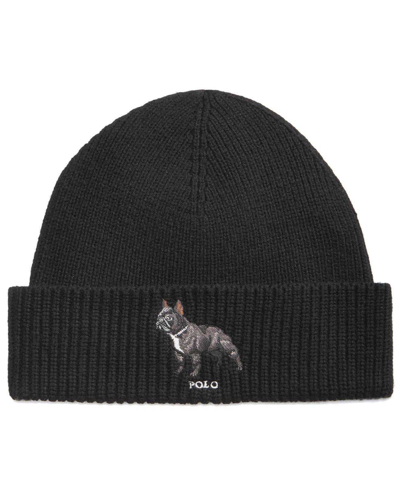 Lyst - Polo Ralph Lauren Men s French Bull Dog Hat in Black for Men 45fd2177ea37