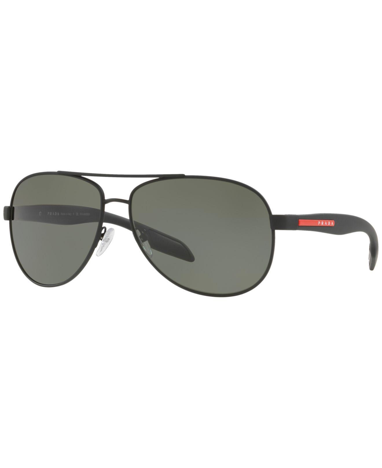 e6be9da7534 Lyst - Prada Sunglasses in Black for Men