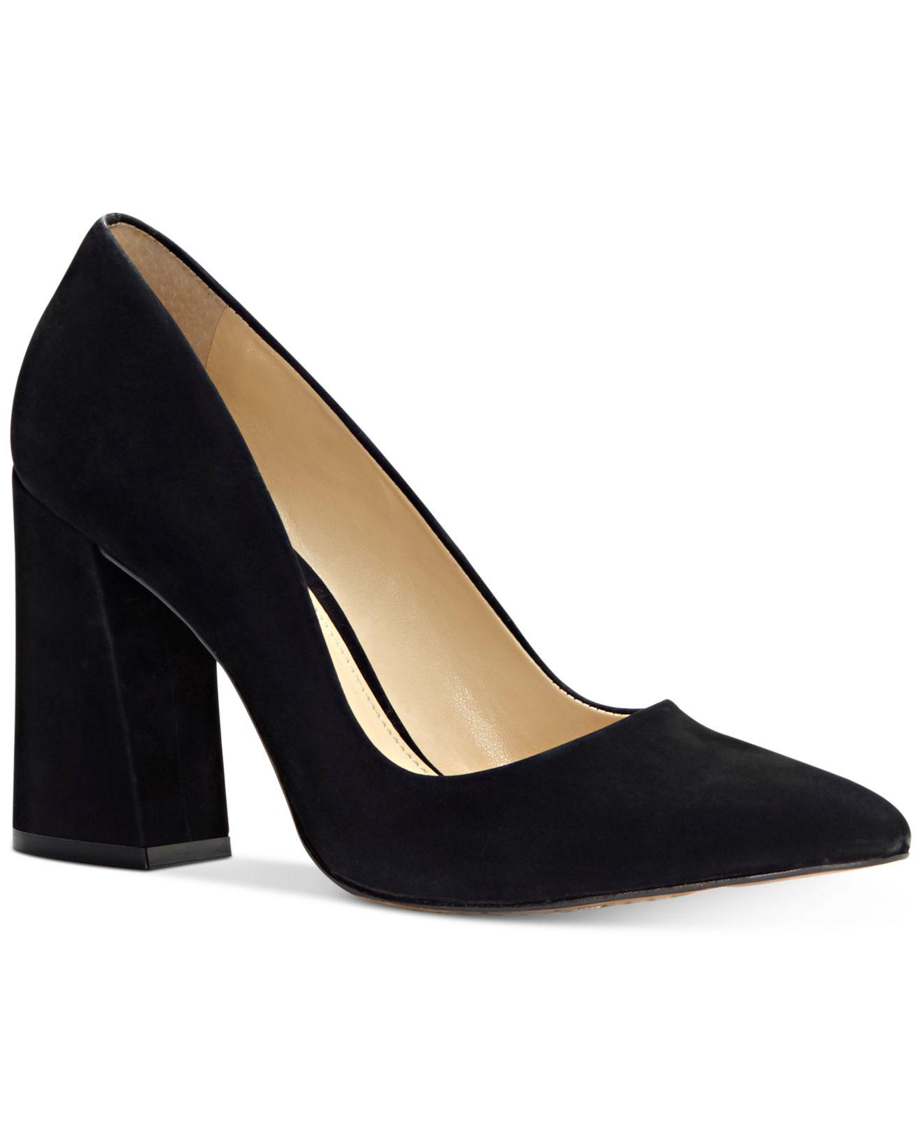 with credit card cheap price outlet visa payment Vince Camuto Suede Pointy Toe Block Heel Pumps - Talise discount in China free shipping very cheap ql5O4x6q