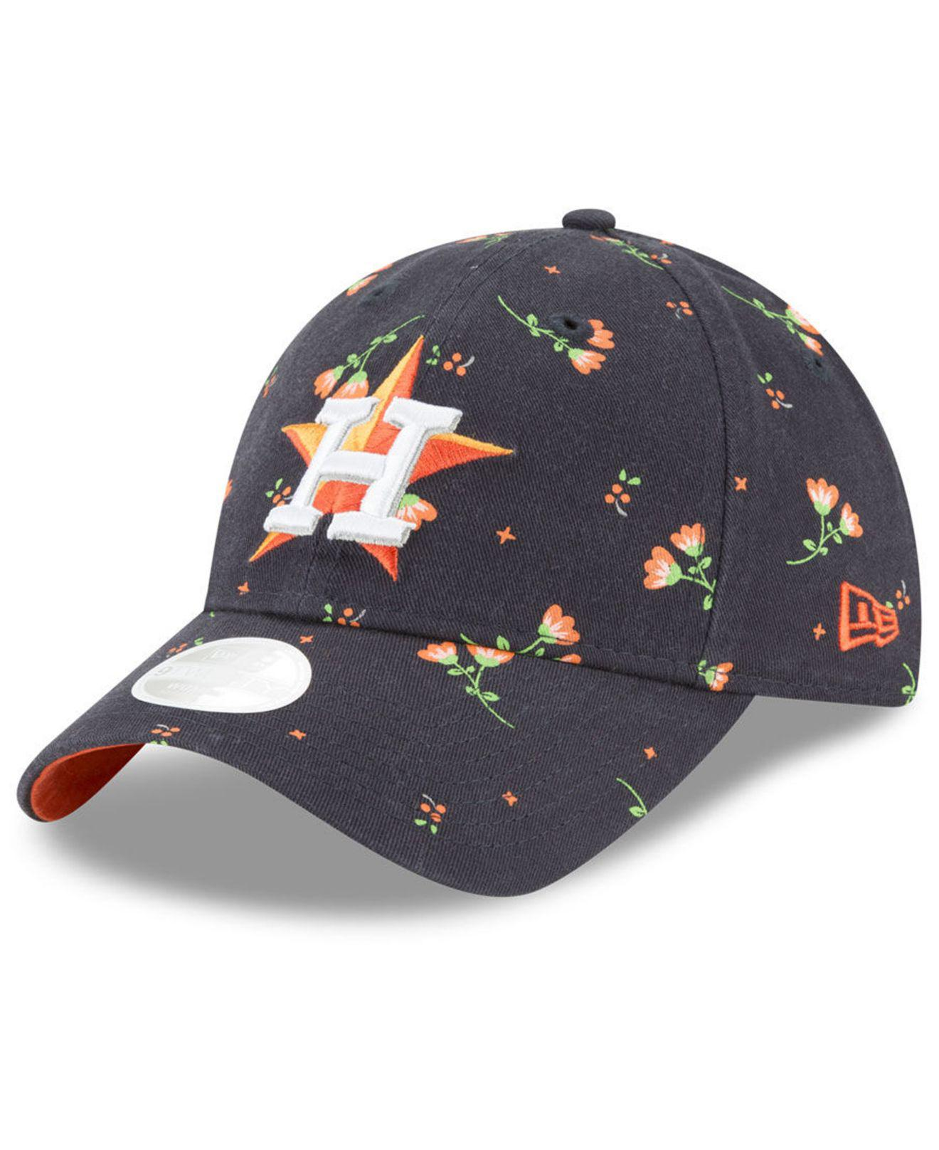 f188b96bc5d Lyst - KTZ Houston Astros Blossom 9twenty Strapback Cap in Blue for Men