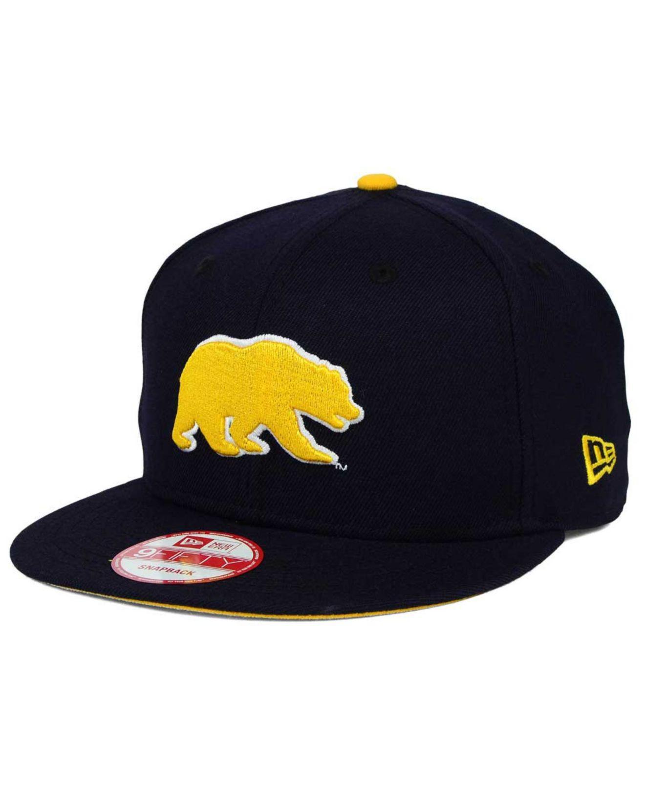 new arrival a3d07 77e43 ... reduced ktz. mens blue california golden bears core 9fifty snapback cap  04764 5ef84