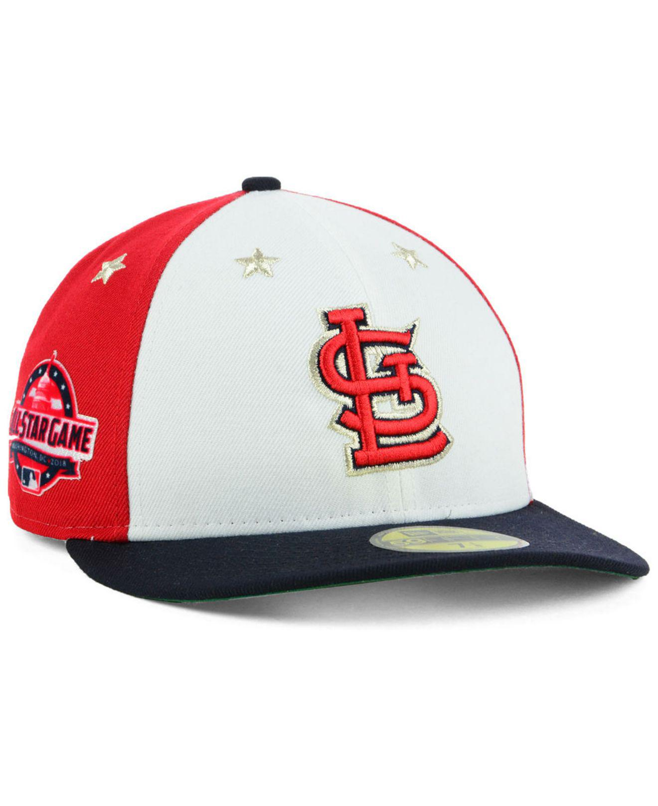 cbe605d88d48ca usa ktz. mens st. louis cardinals all star game patch low profile 59fifty  fitted