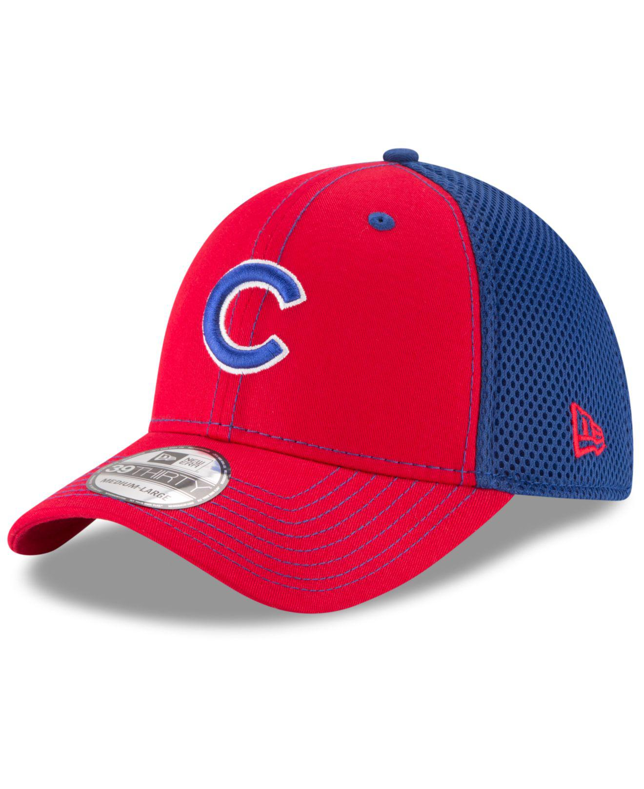 ce73b91e513 Lyst - Ktz Chicago Cubs Team Front Neo 39thirty Cap in Blue for Men