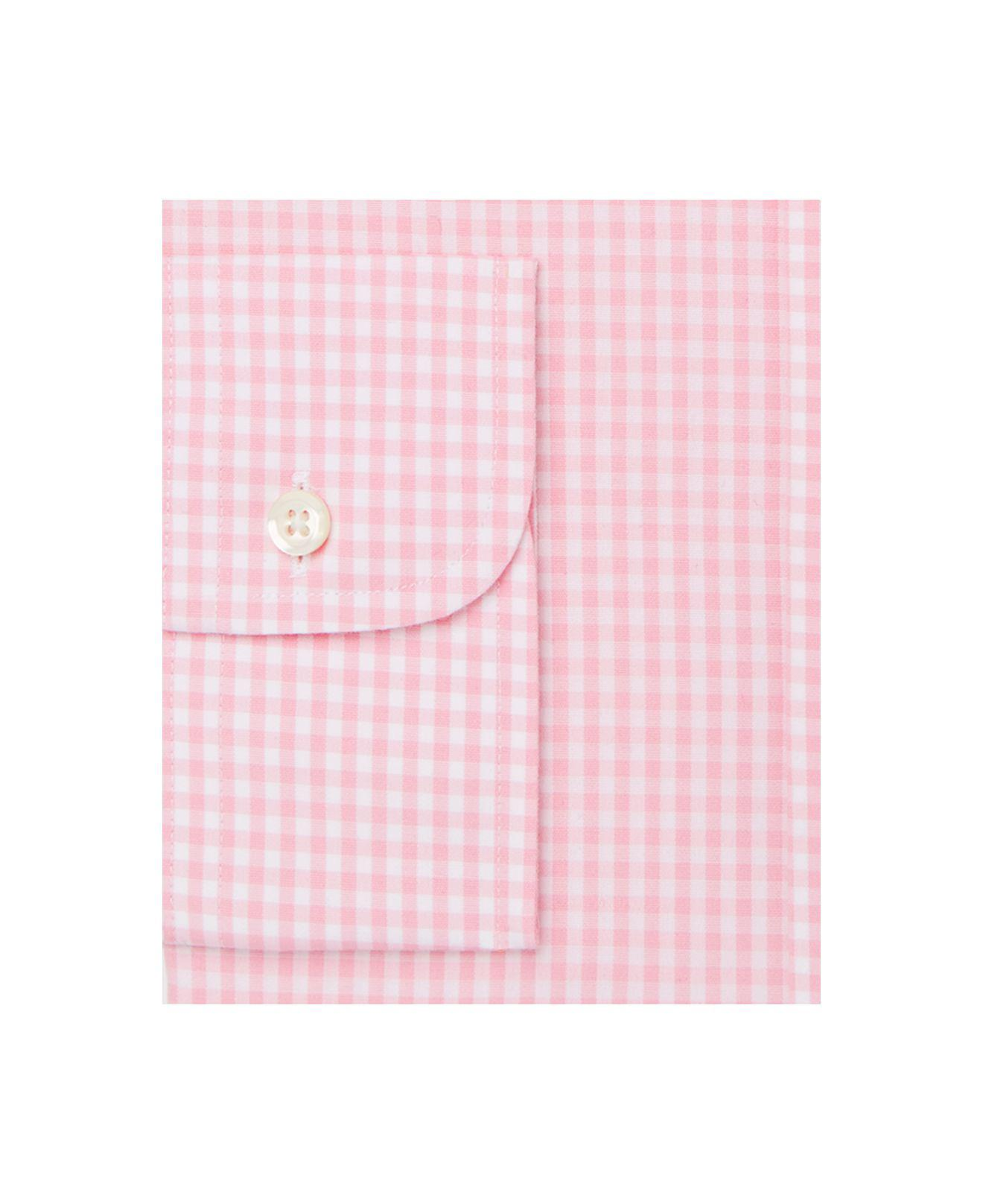 Nordstrom Men S Traditional Fit Non Iron Gingham Dress Shirt