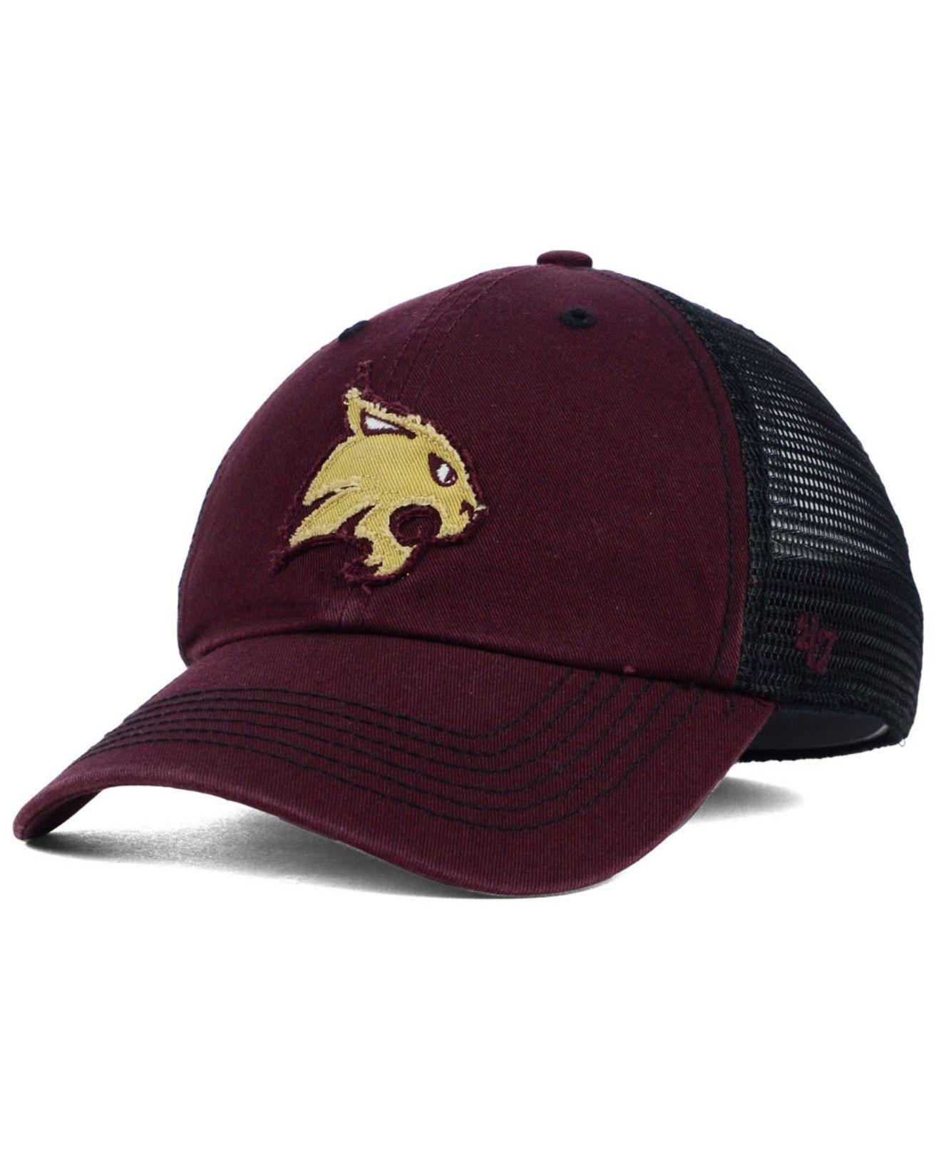 best website 2c1d5 4d6c8 ... new zealand lyst 47 brand texas state bobcats tayor closer cap in red  for men 81803