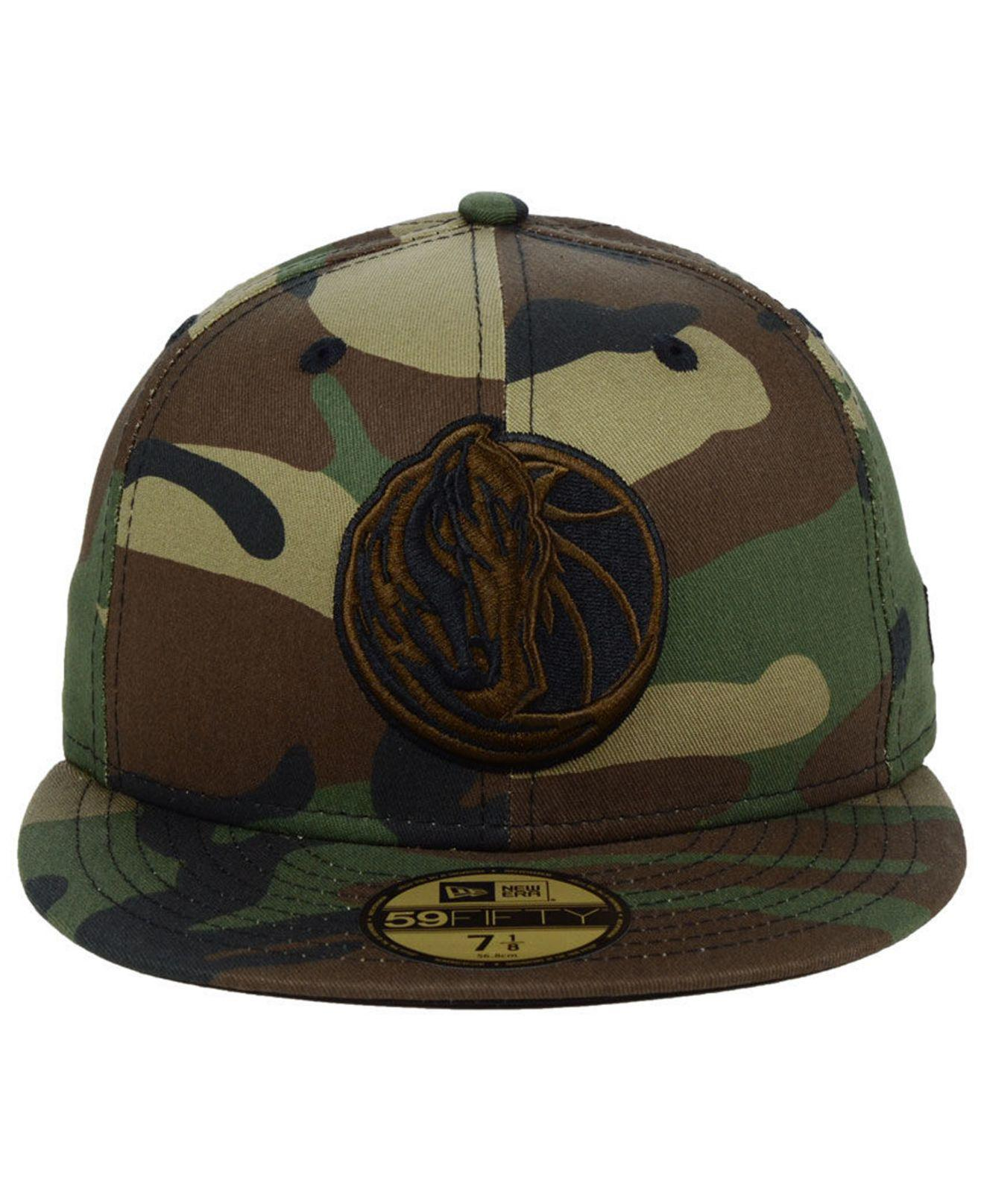 best website f8e93 54ede KTZ - Green Dallas Mavericks Fall Prism Pack 59fifty-fitted Cap for Men -  Lyst. View fullscreen
