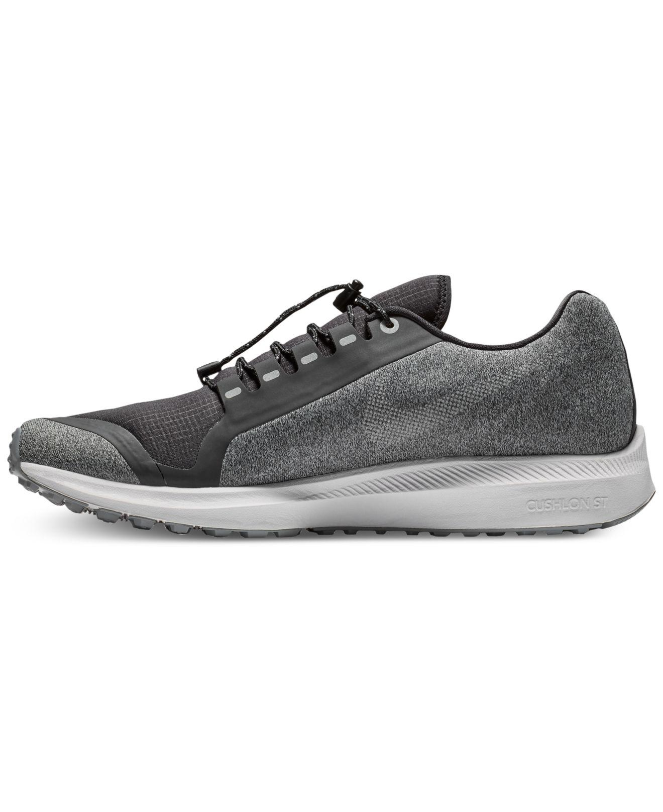 f7e3cf1a6cb1 Lyst - Nike Air Zoom Winflo 5 Running Sneakers From Finish Line in Black  for Men