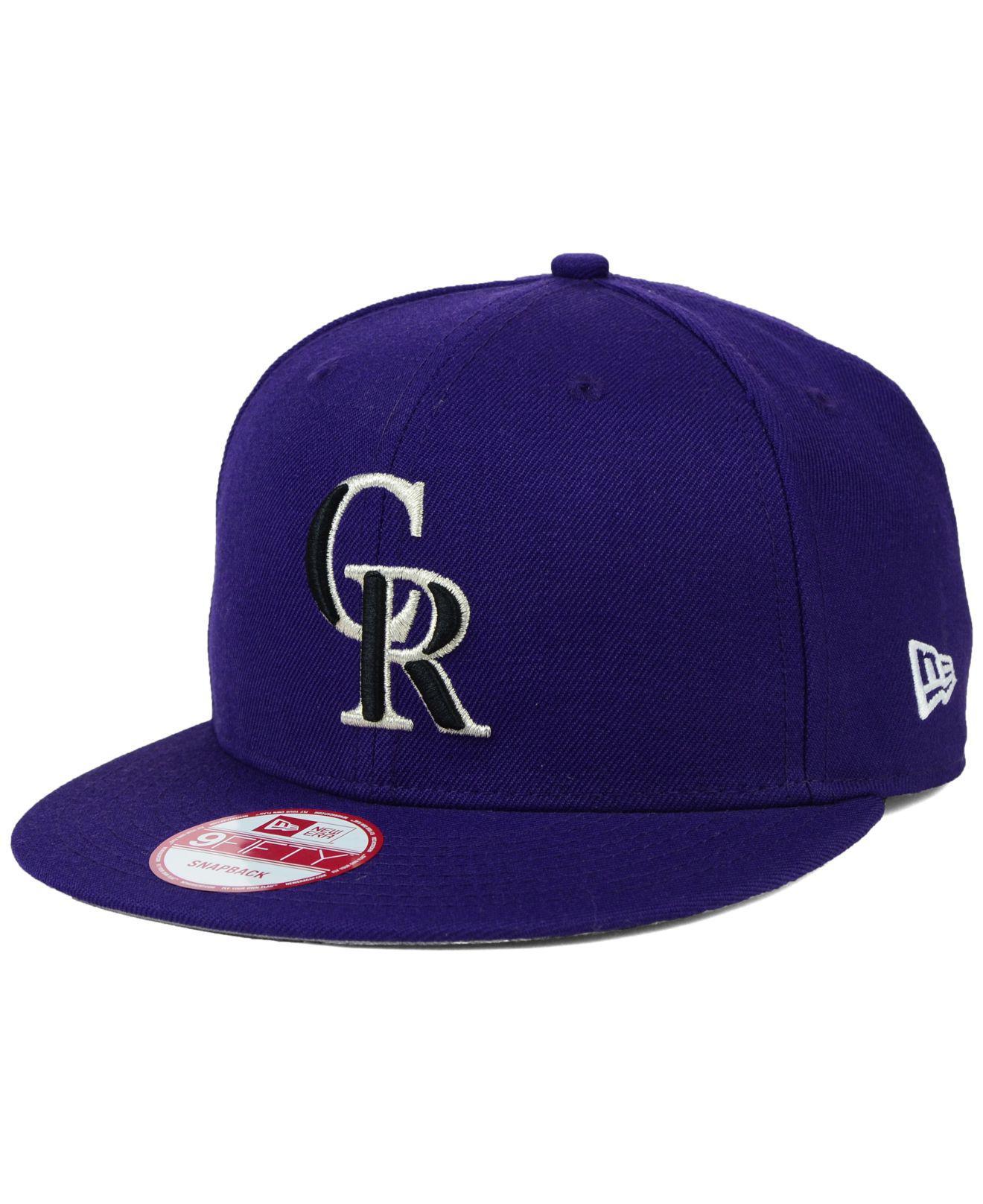newest 89746 72f1f ... switzerland ktz. mens purple colorado rockies 2 tone link 9fifty  snapback cap cc789 2853e