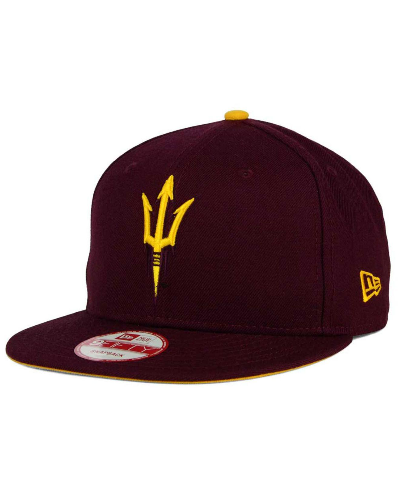 sale retailer 372a8 5a884 KTZ. Men s Purple Arizona State Sun Devils Core 9fifty Snapback Cap
