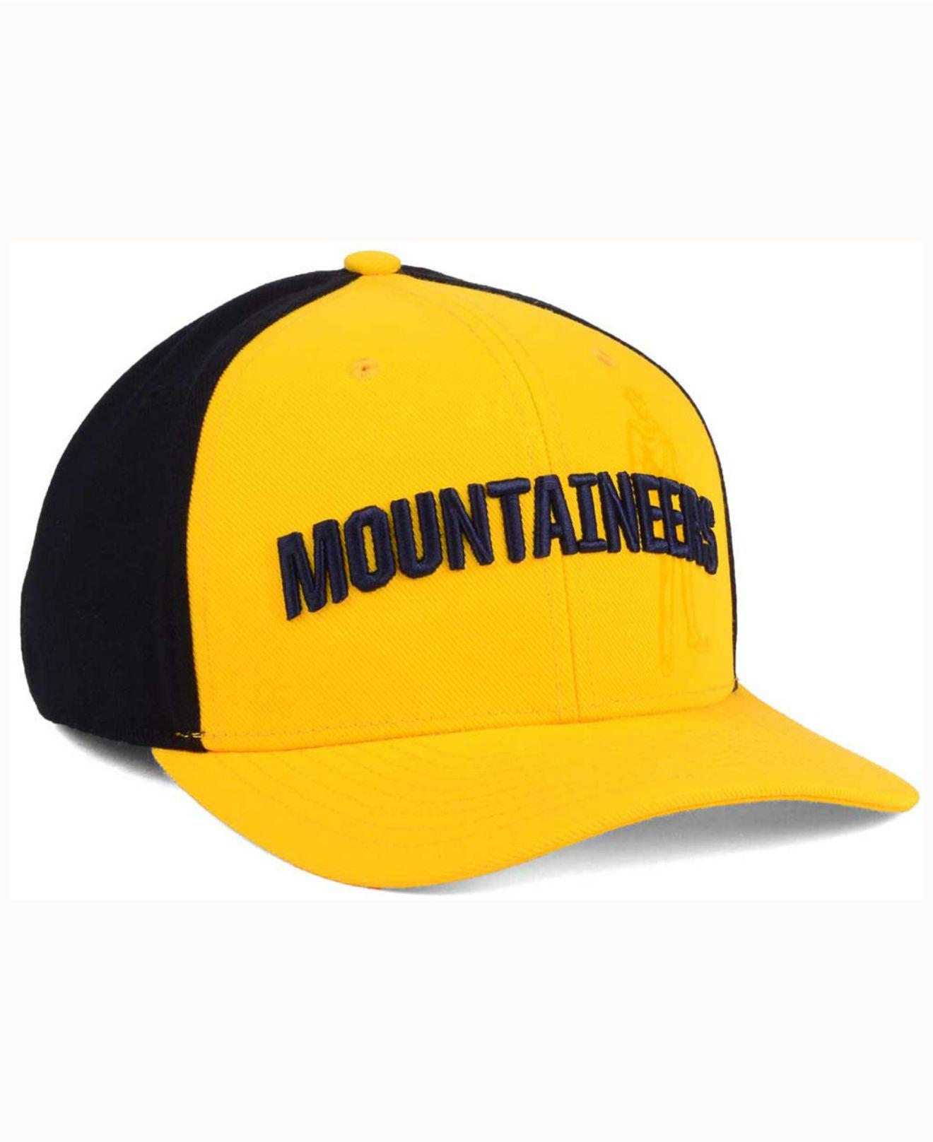 06b8e715ee0 ... coupon code for nike yellow west virginia mountaineers classic 99  swoosh flex cap for men lyst