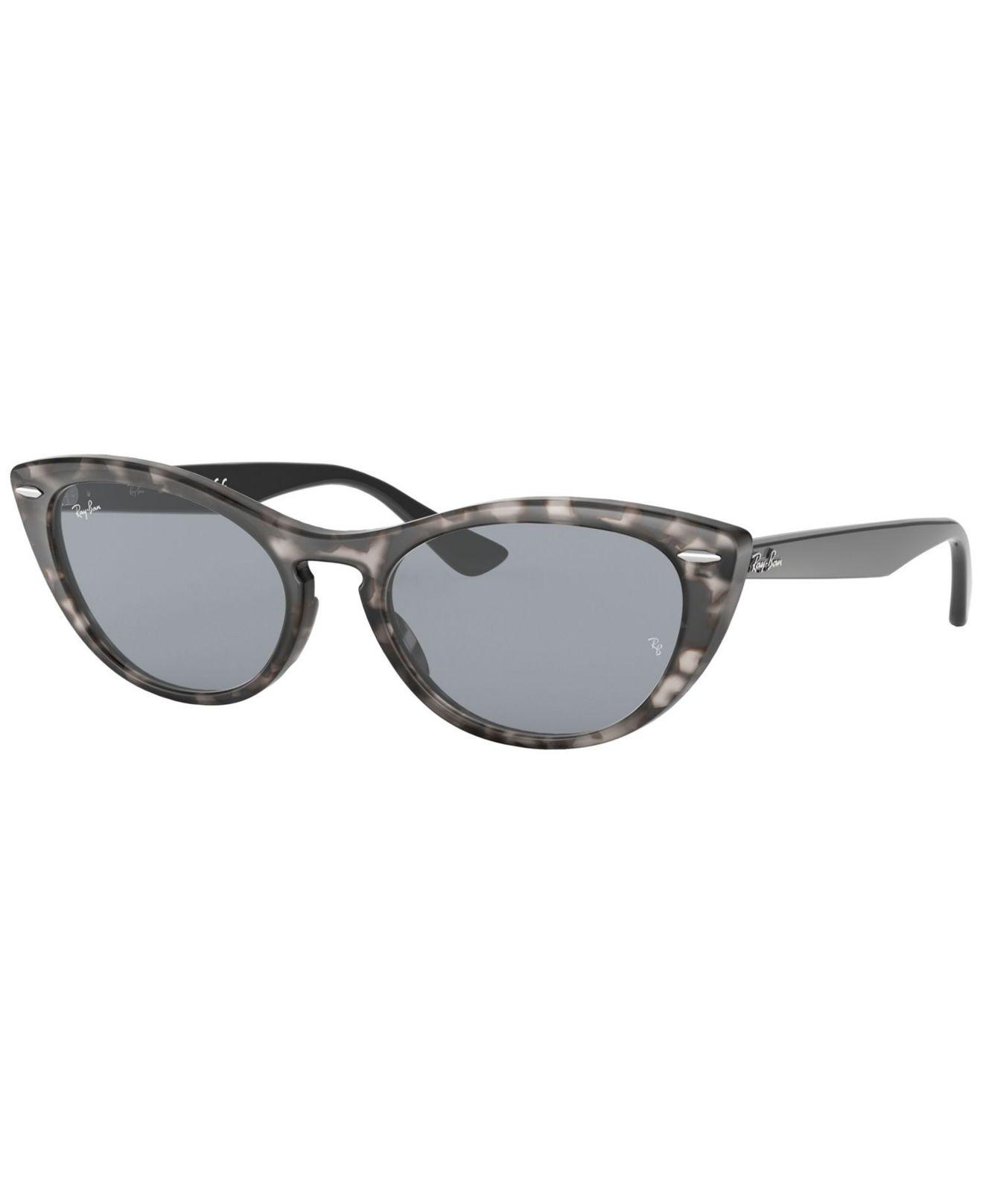 6d78e0c5d93 Lyst - Ray-Ban Sunglass Rb4314n 54 Nina in Gray