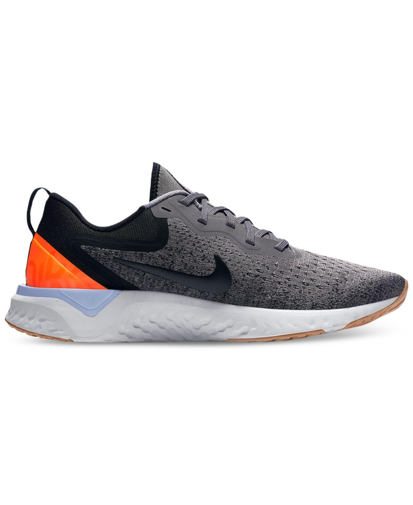 350891e93076 Lyst - Nike Odyssey React Running Sneakers From Finish Line in Black