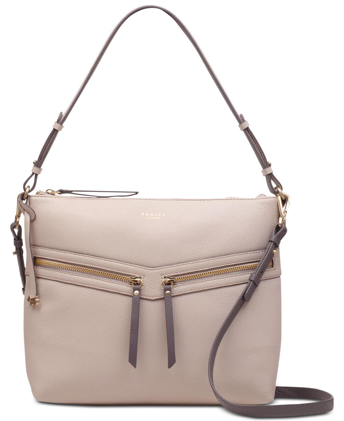 6022a6e1a09e98 Radley - Gray Smith Street Medium Zip-top Multiway Shoulder Bag - Lyst.  View fullscreen