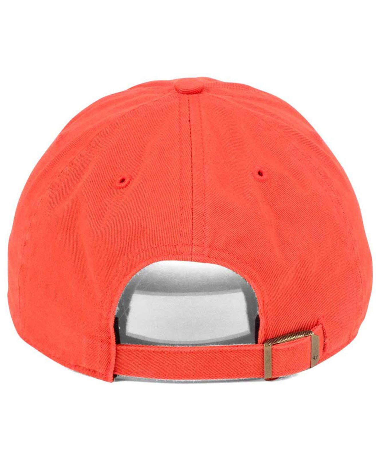 free shipping 6e773 beb7c Lyst - 47 Brand Triple Rush Clean Up Cap in Orange for Men