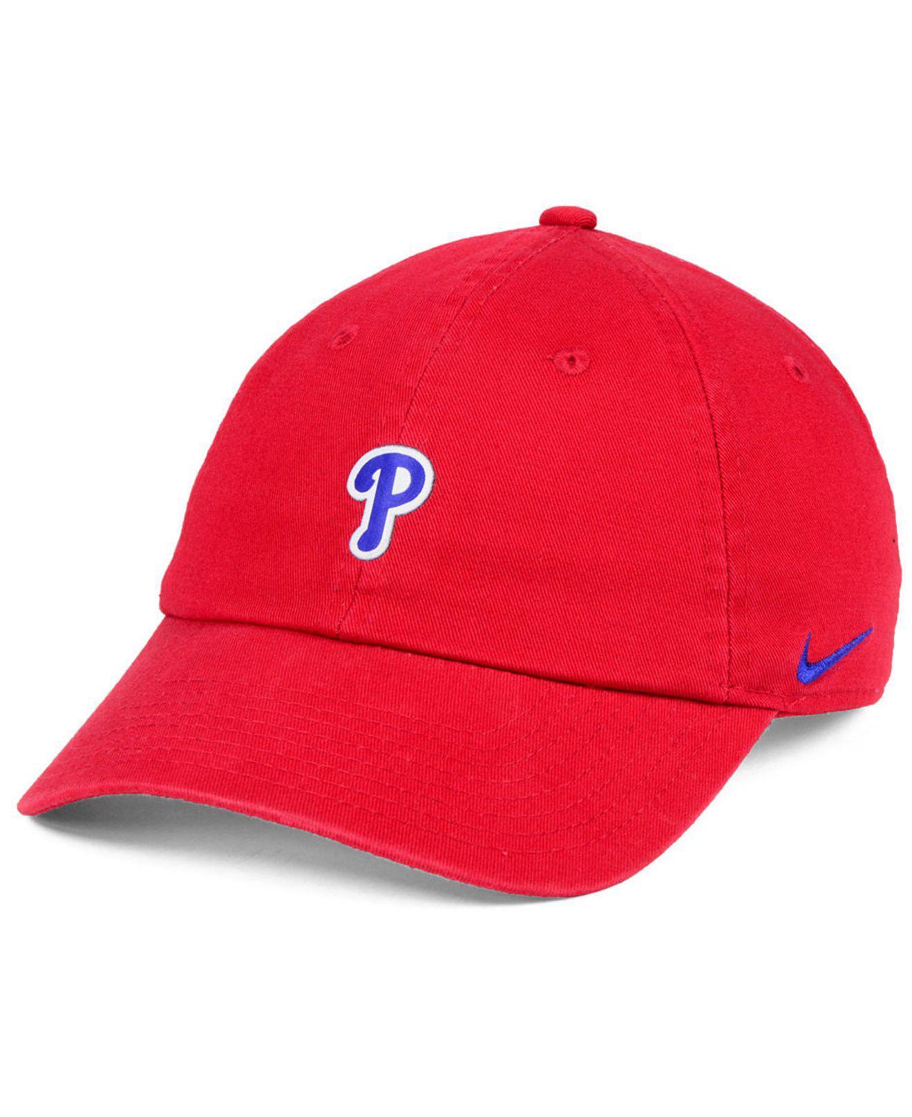 2d5f1d72391 Lyst - Nike Philadelphia Phillies Micro Cap in Red for Men