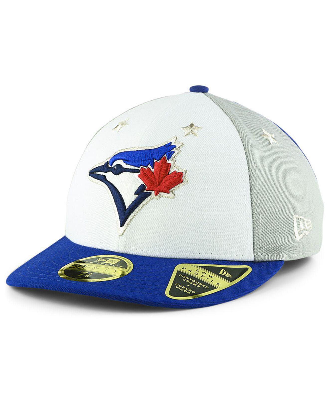 26717d10527 Lyst - KTZ Toronto Blue Jays All Star Game Patch Low Profile 59fifty ...