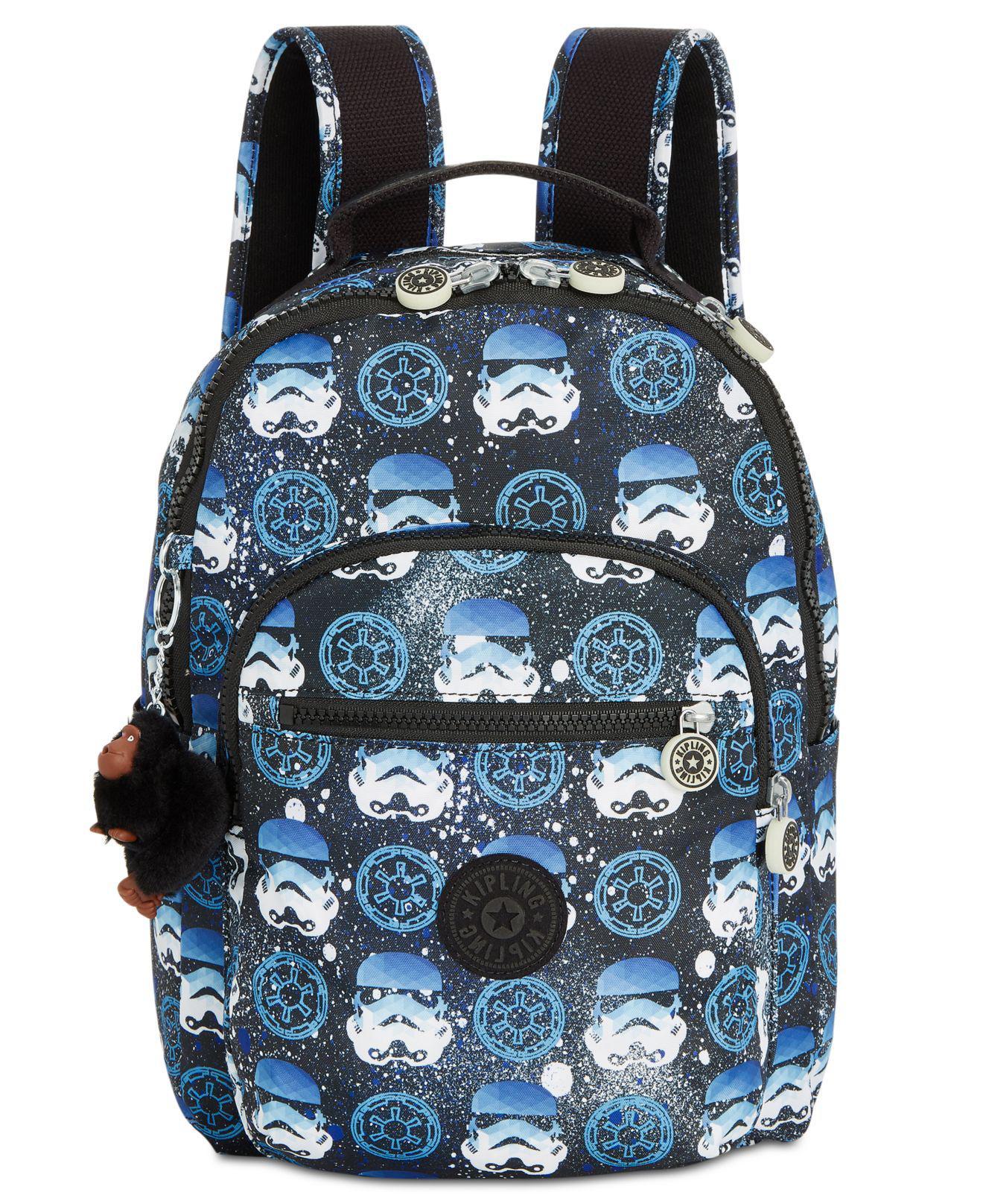 daaf64e2681 Lyst Kipling Disney S Star Wars Small Seoul Backpack In Blue
