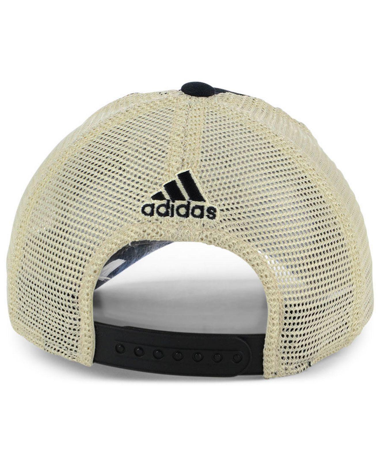 new arrival 4b8db 3fb97 ... cheap lyst adidas philadelphia flyers sun bleached slouch cap in black  9fdb9 0a491