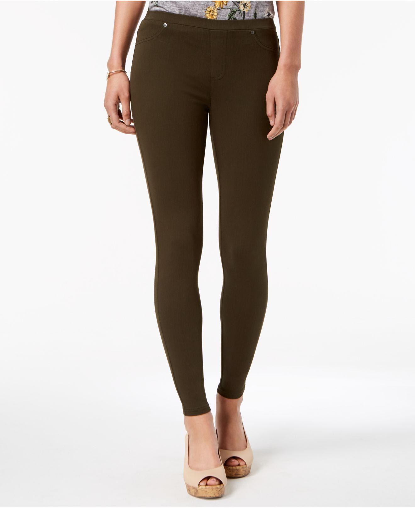 342da3442fbb9 Lyst - Style & Co. Petite Twill Pull-on Leggings, Created For Macy's ...
