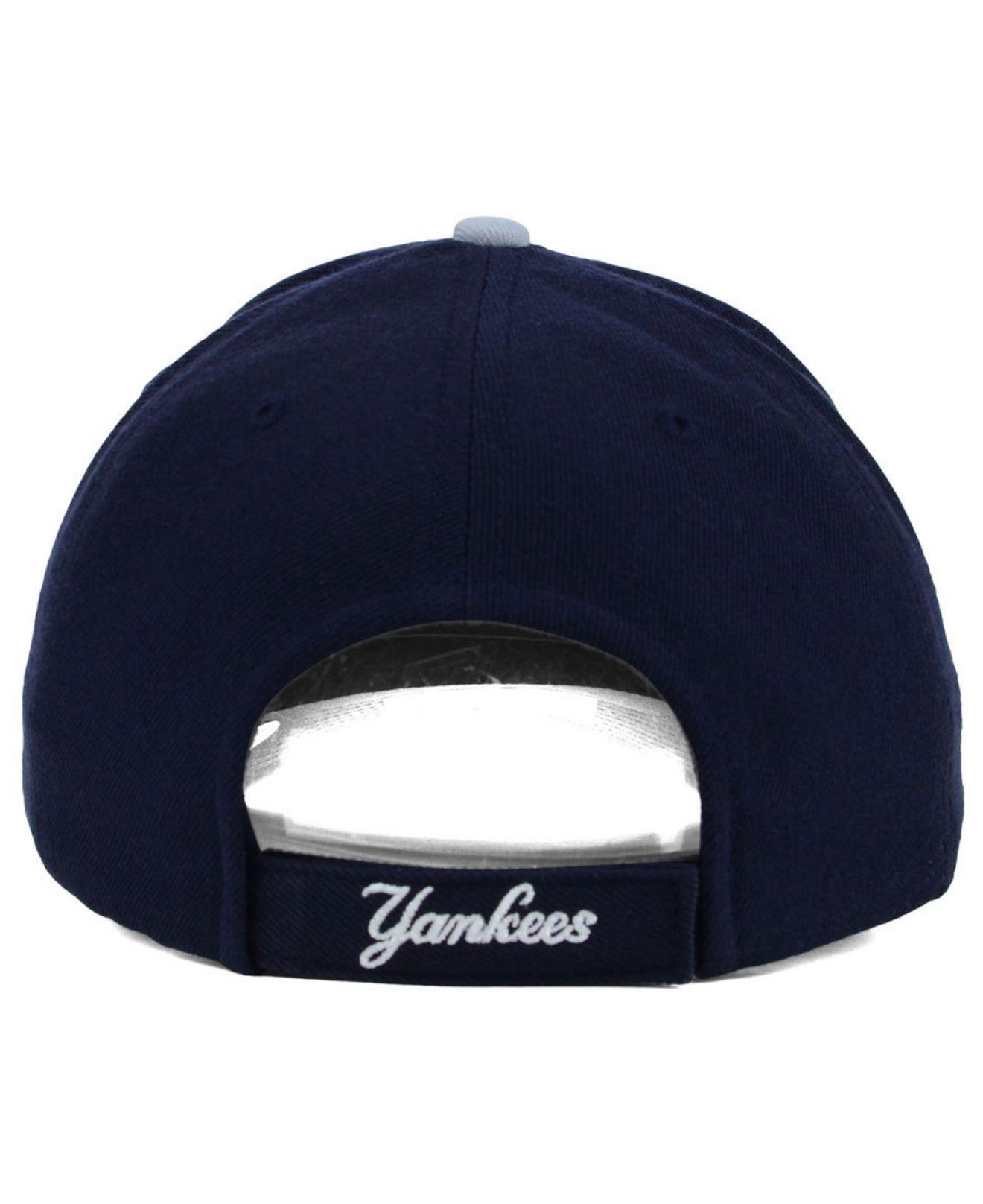 425b0481e13 ... sale new york yankees mvp curved cap for men lyst. view fullscreen  b4472 548d4