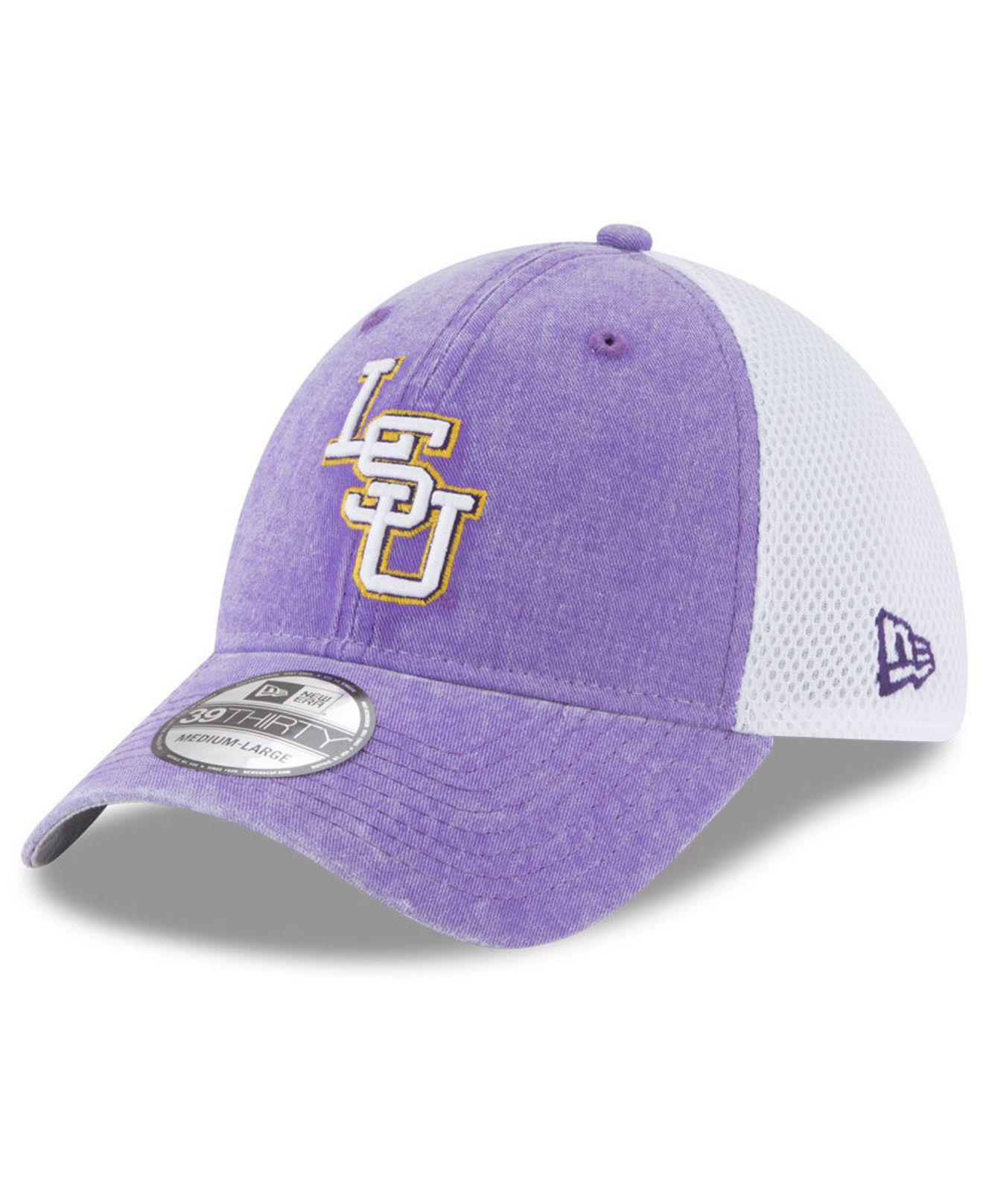 quality design d17e1 43a62 ... aliexpress lyst ktz lsu tigers washed neo 39thirty cap in purple for men  c41e2 71c2d