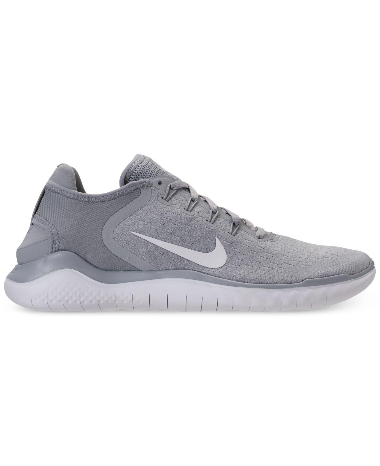 Lyst - Nike Free Run 2018 Running Sneakers From Finish Line in Gray for Men 0e8cd3b40a12