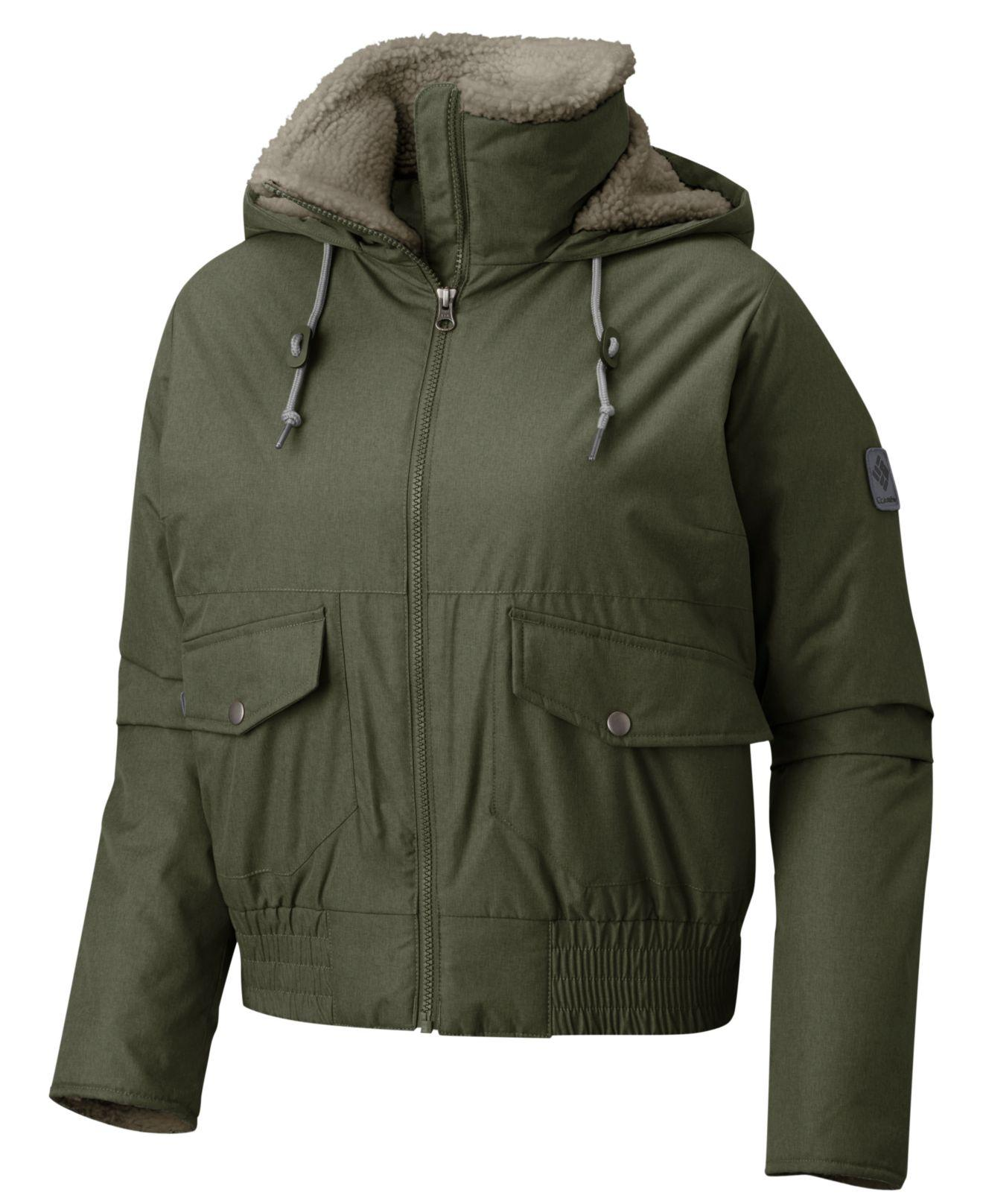 305fc0532 Columbia Fleece-lined Beacon Brooketm Bomber Jacket in Green - Save ...