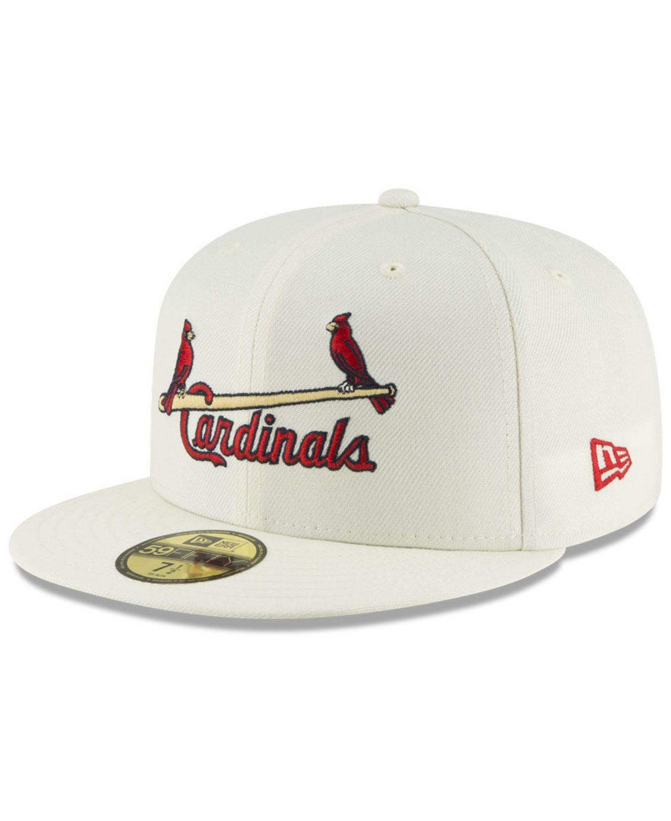 promo code 3dc15 5d742 KTZ - Multicolor St. Louis Cardinals Vintage World Series Patch 59fifty Cap  for Men -. View fullscreen