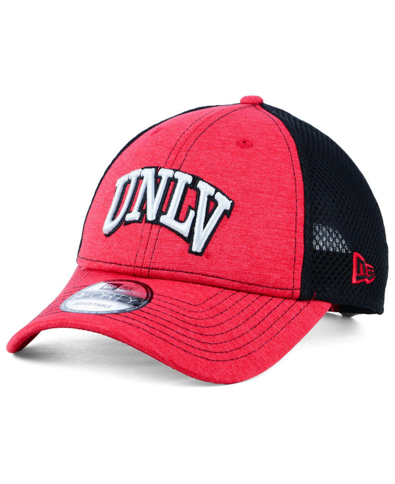 release date: f4b19 b4432 KTZ. Men s Red Unlv Runnin  Rebels Shadow Turn 9forty Cap