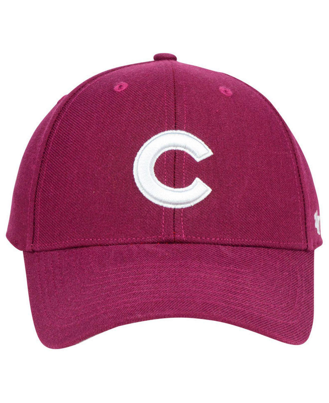 9ab71177ba7 ... official lyst 47 brand chicago cubs cardinal mvp cap for men c6504 2f517