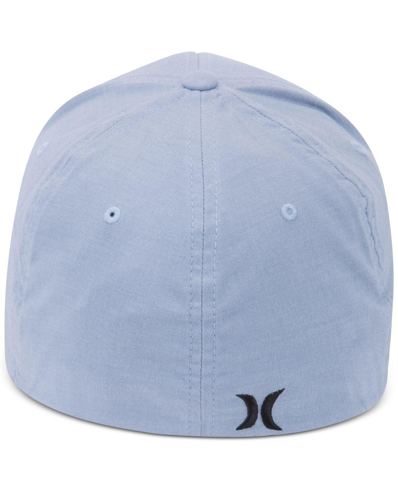sports shoes 81a46 d1135 ... new zealand lyst hurley mens one and only shift flexfit hat in blue for  men 43ea4