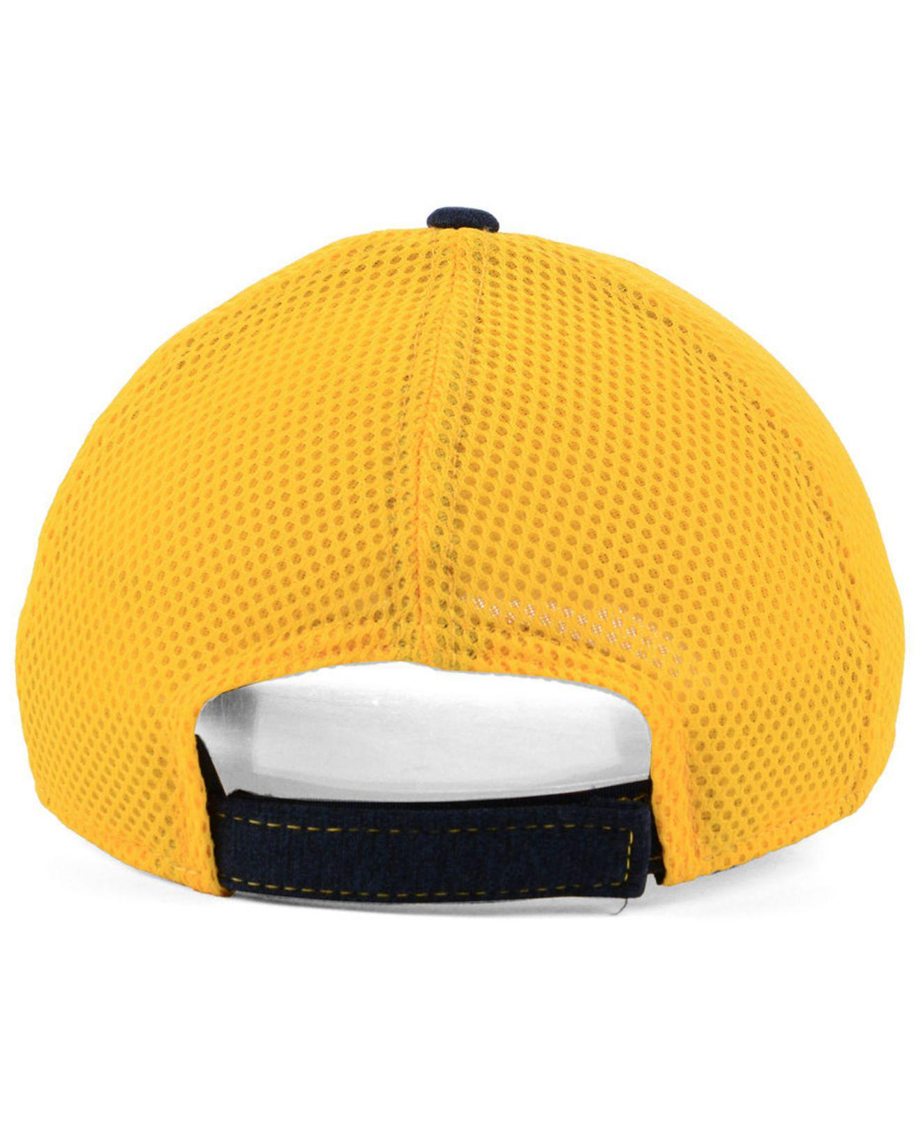 huge discount a29f0 12bad ... where can i buy lyst ktz west virginia mountaineers shadow turn 9forty  cap in blue 7af29