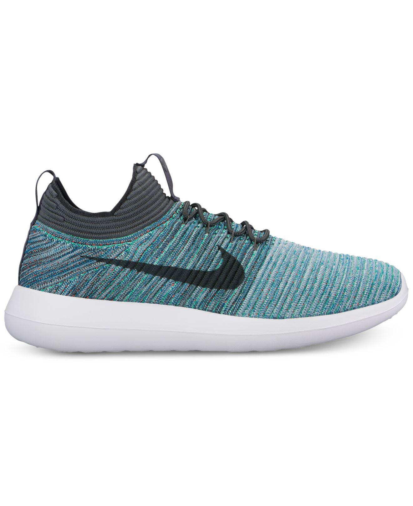 Lyst Nike Roshe Two Flyknit V2 Casual Sneakers From Finish Line in