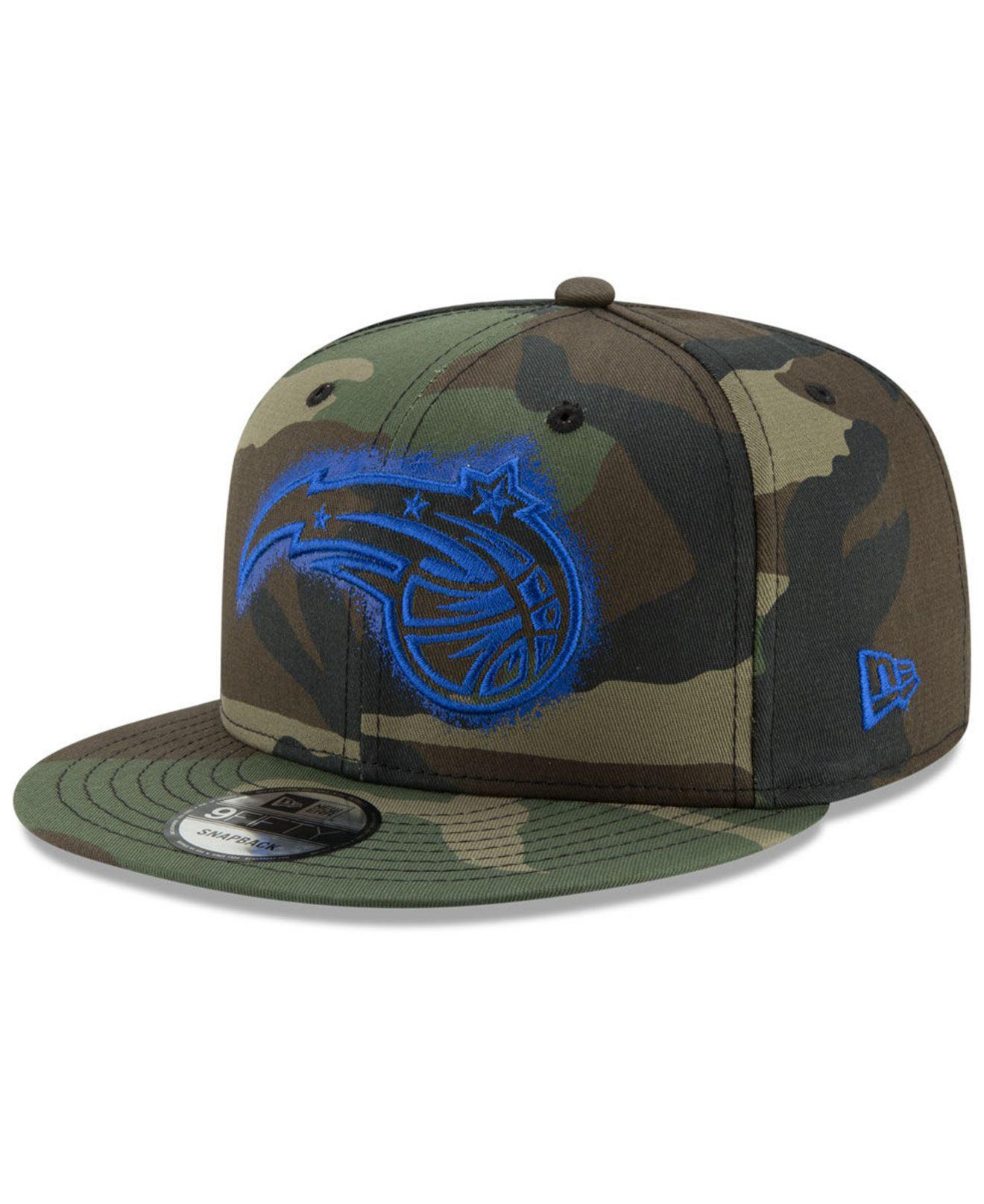 new concept 56277 31461 KTZ. Men s Green Orlando Magic Overspray 9fifty Snapback Cap