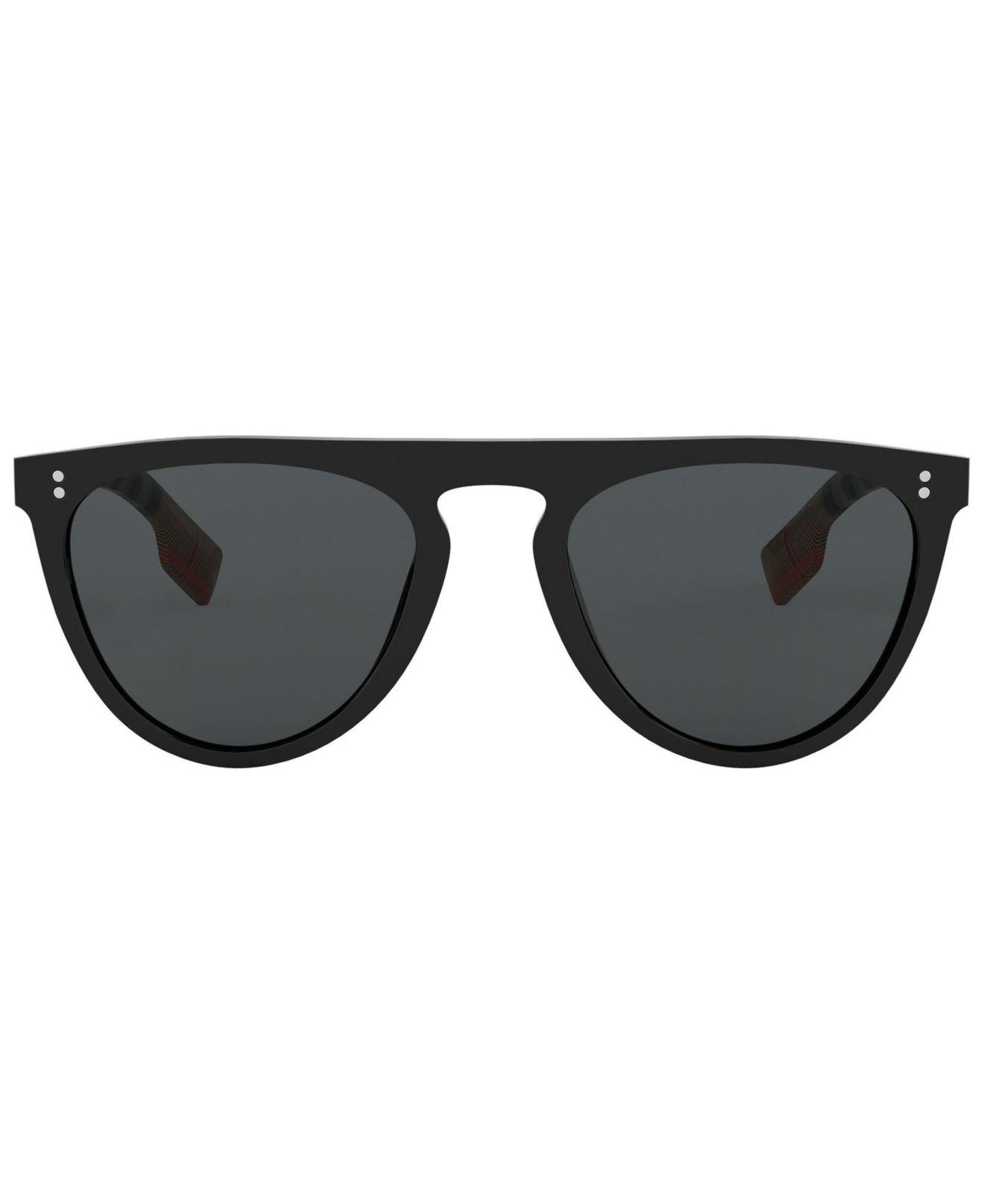 33daffbe425 Lyst - Burberry Be4281 in Black for Men